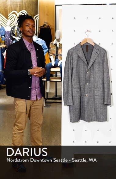 Trim Fit Wool Blend Top Coat, sales video thumbnail