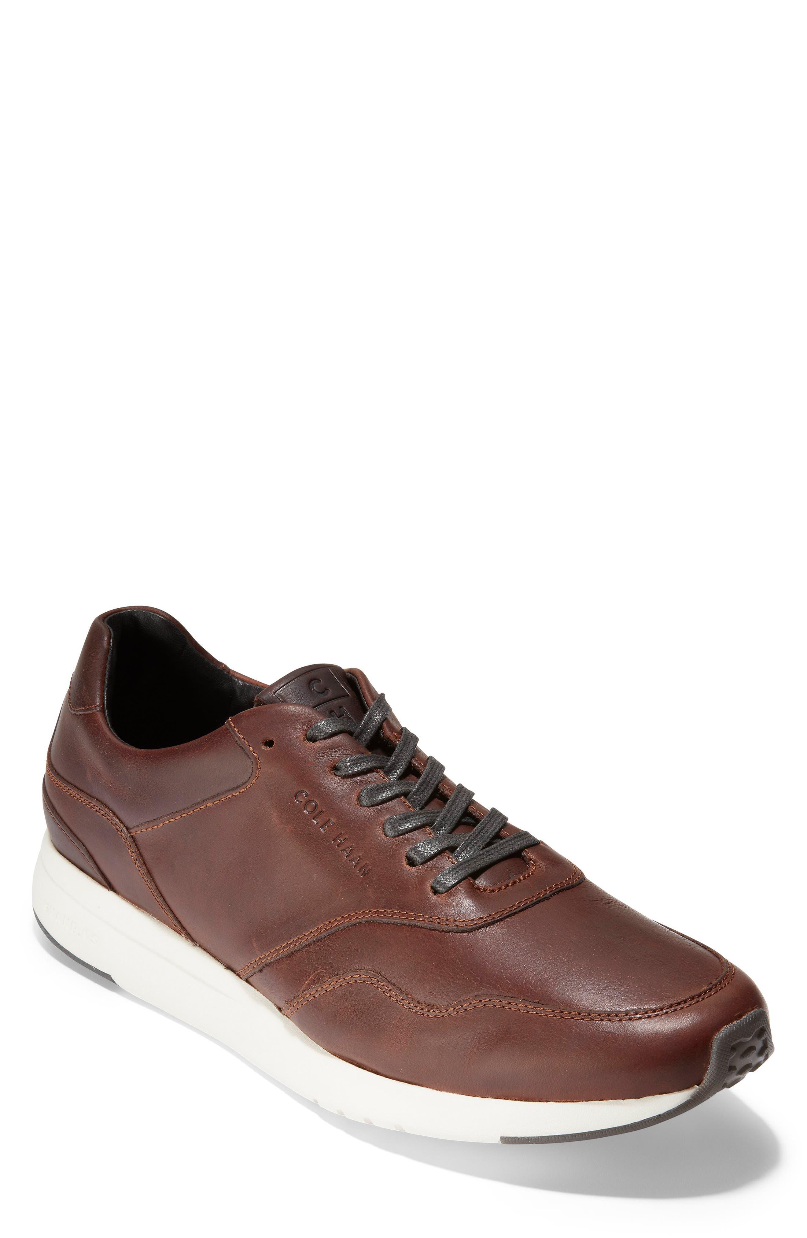 GrandPro Sneaker,                         Main,                         color, MESQUITE/ COFFEE LEATHER