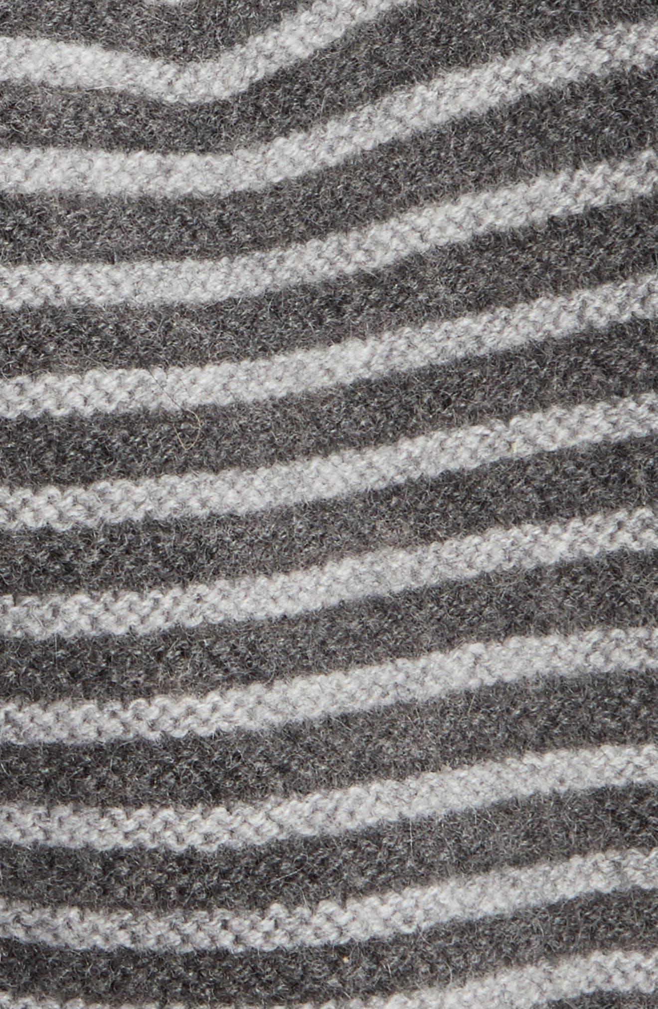 Double Links Wool & Cashmere Hat,                             Alternate thumbnail 5, color,