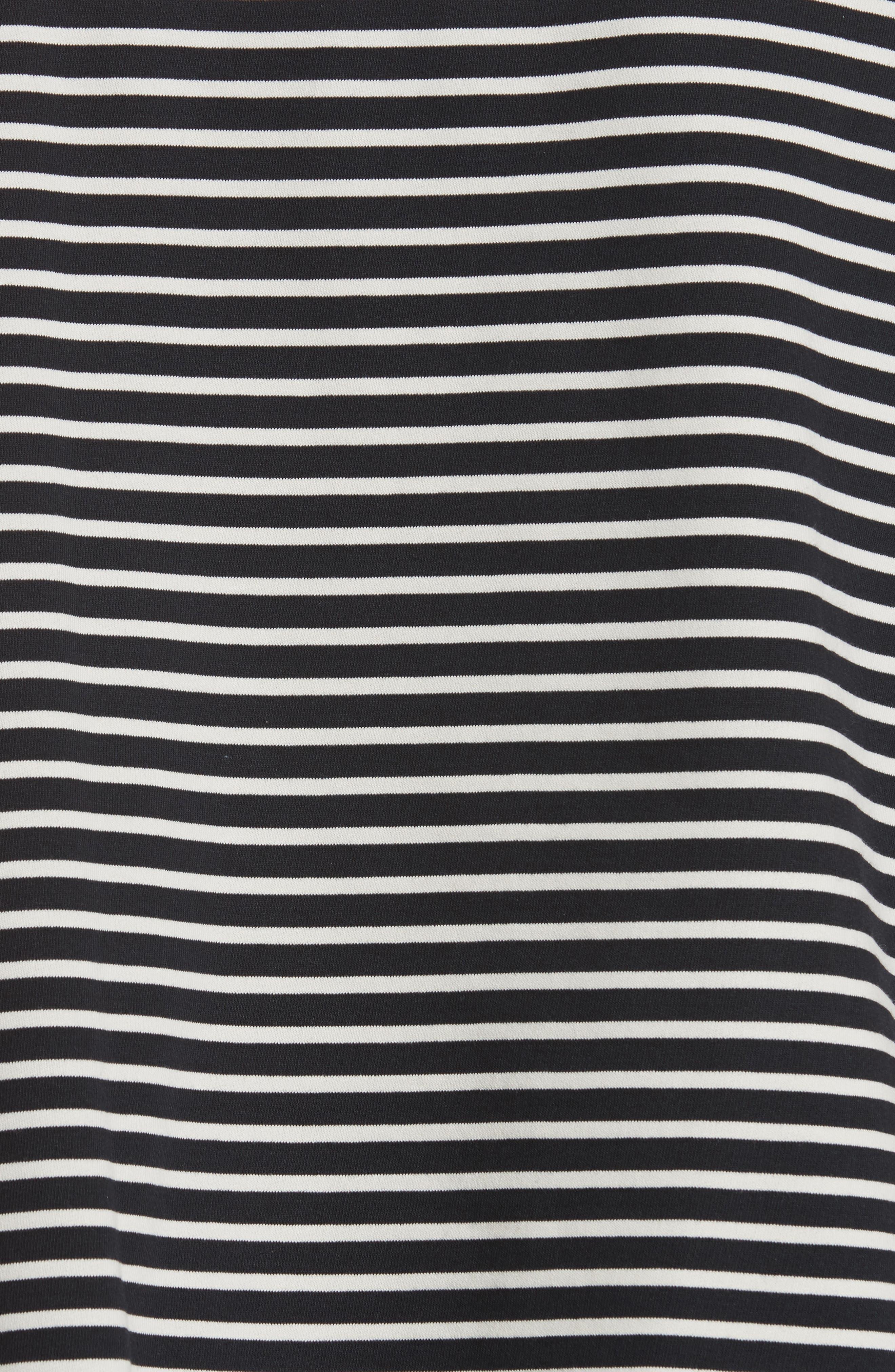 Nautical Stripe Tee,                             Alternate thumbnail 5, color,                             410