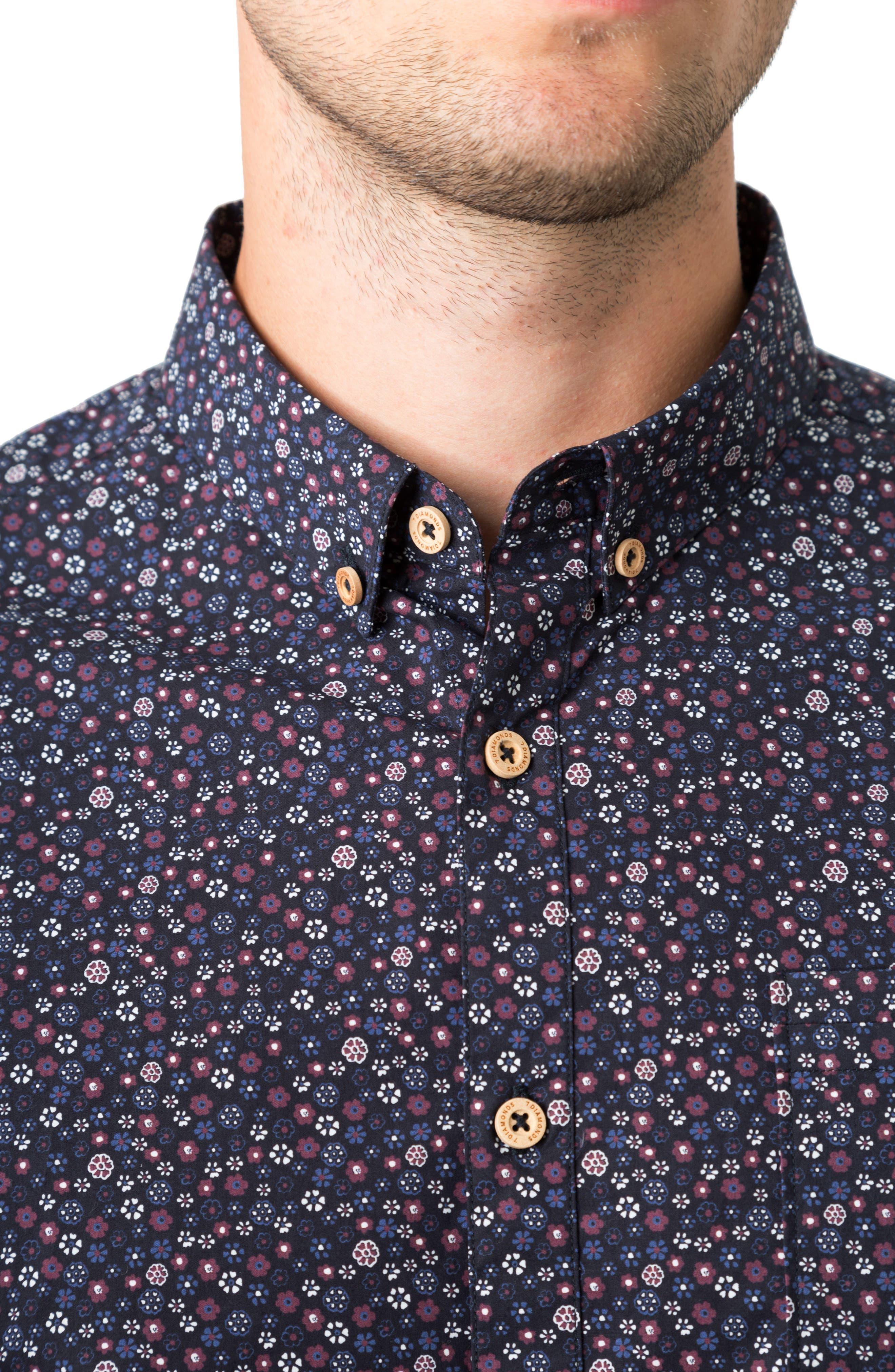Pure Luck Woven Shirt,                             Alternate thumbnail 4, color,