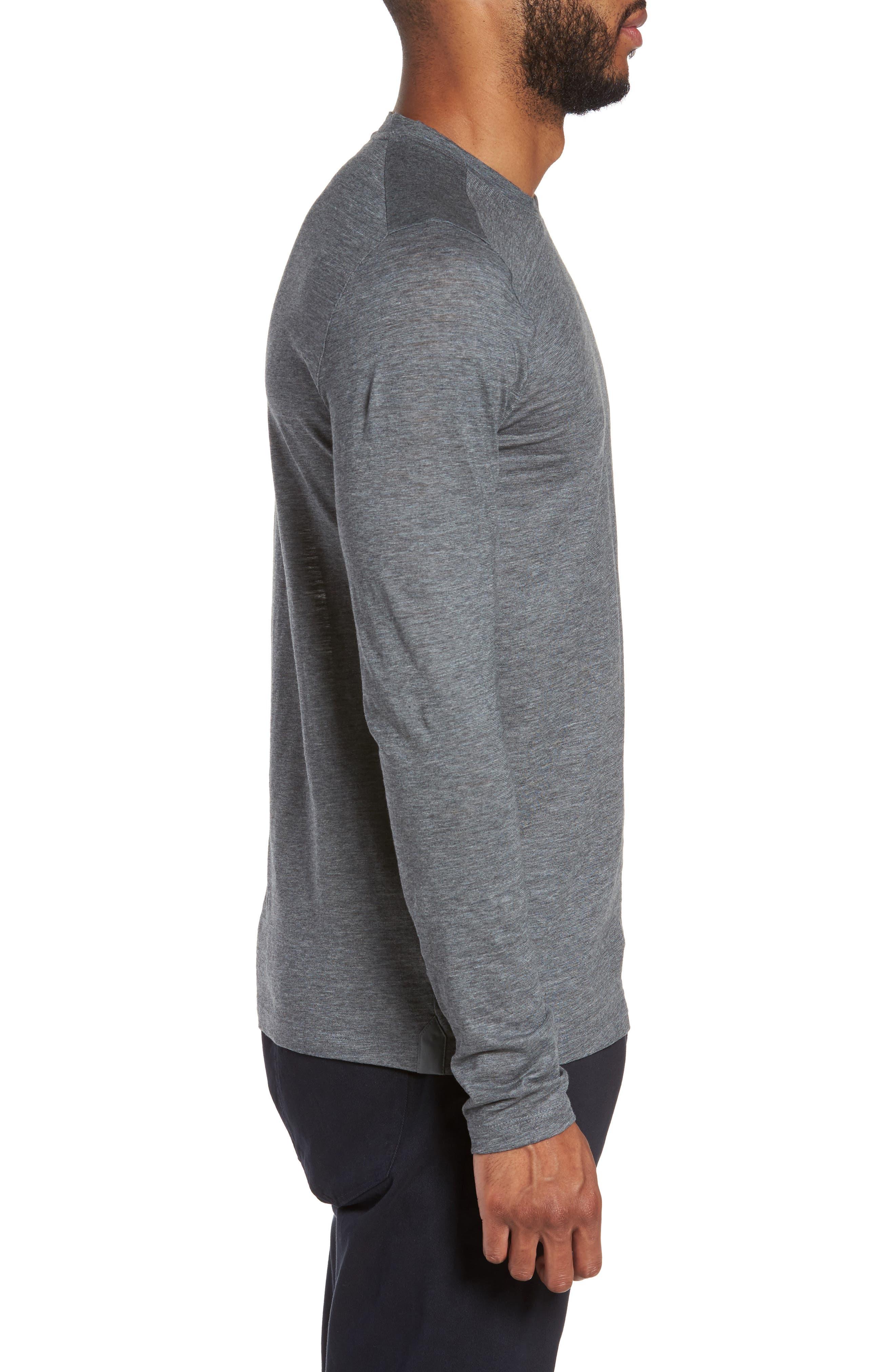 Tenison Long Sleeve T-Shirt,                             Alternate thumbnail 3, color,                             030
