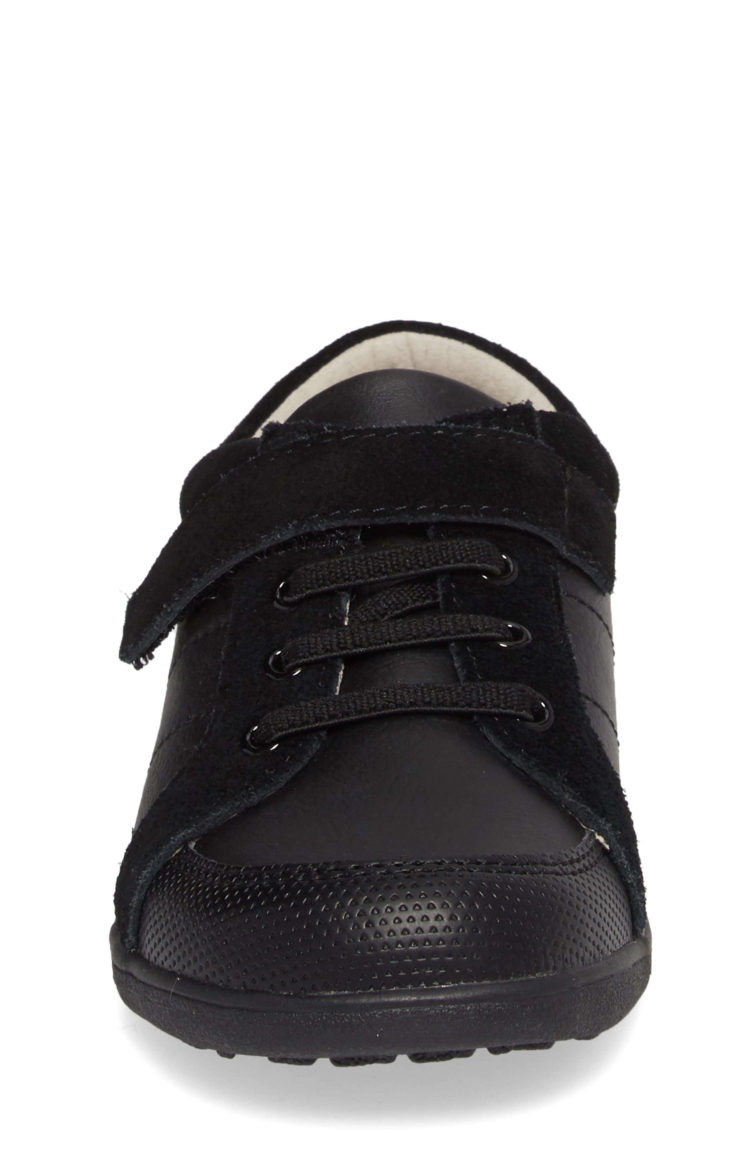 Randal III Sneaker,                             Alternate thumbnail 4, color,                             BLACK