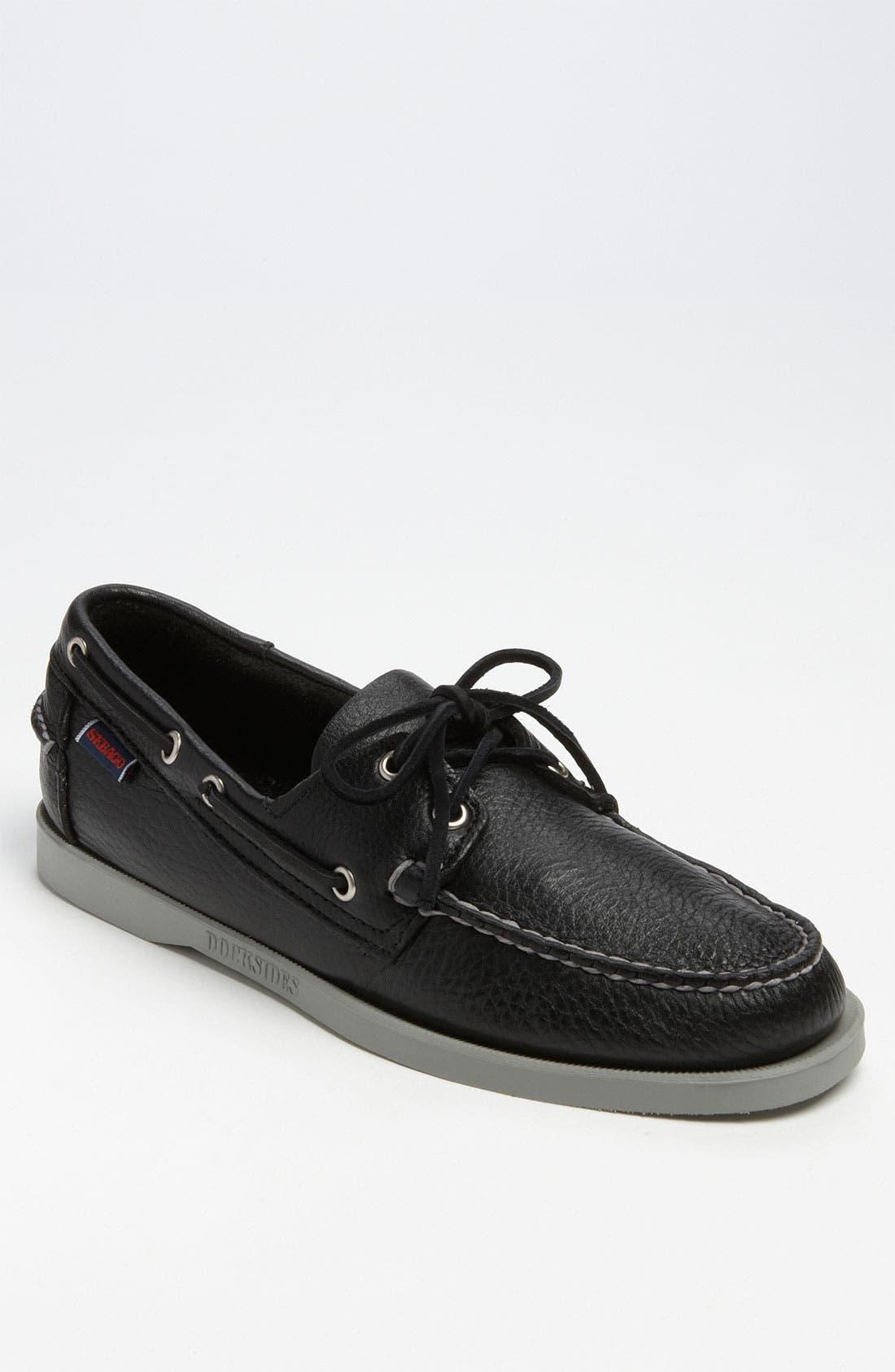 'Docksides<sup>®</sup>' Boat Shoe,                             Main thumbnail 1, color,                             001