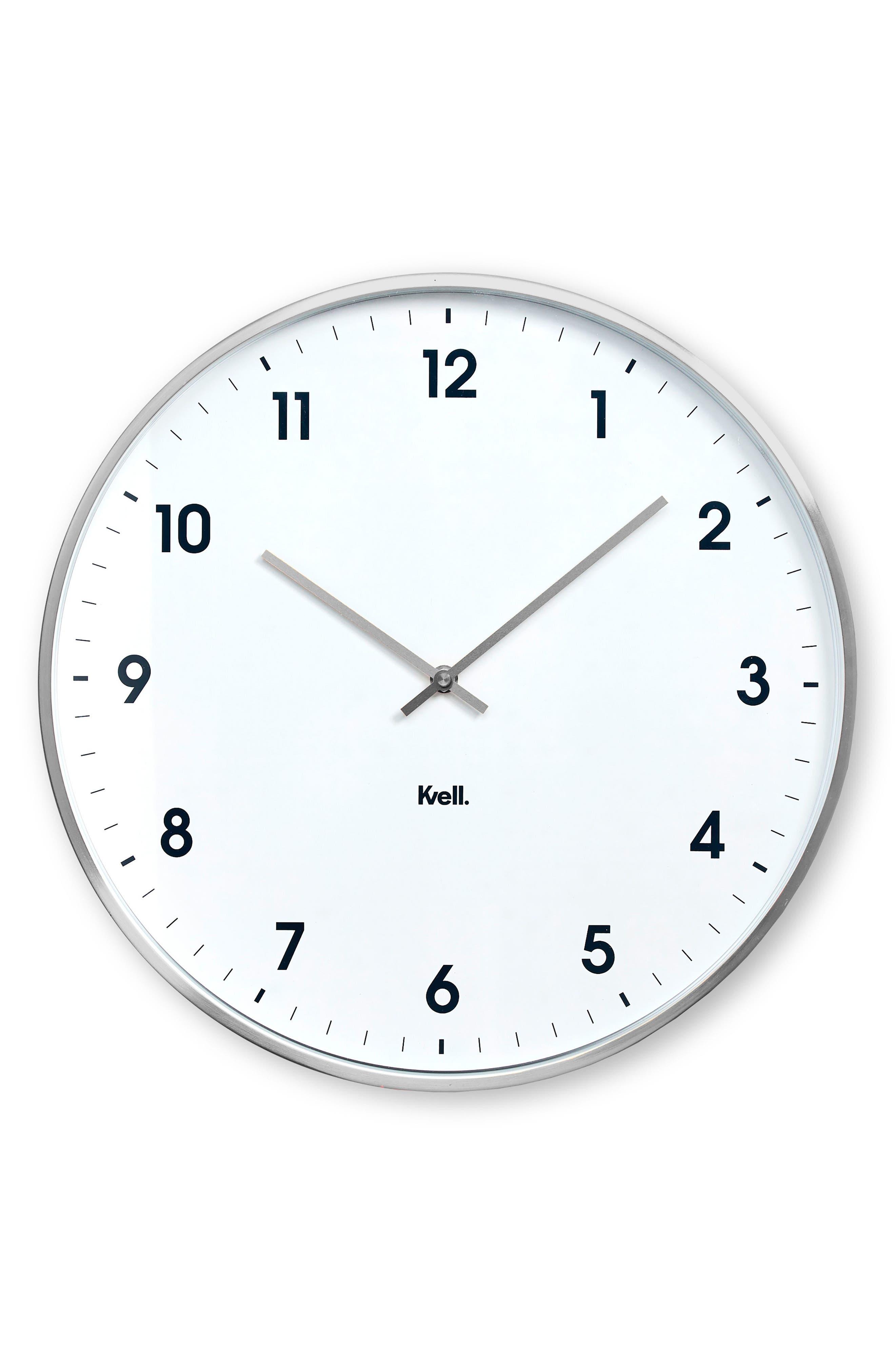 Klassic Wall Clock, Main, color, 040