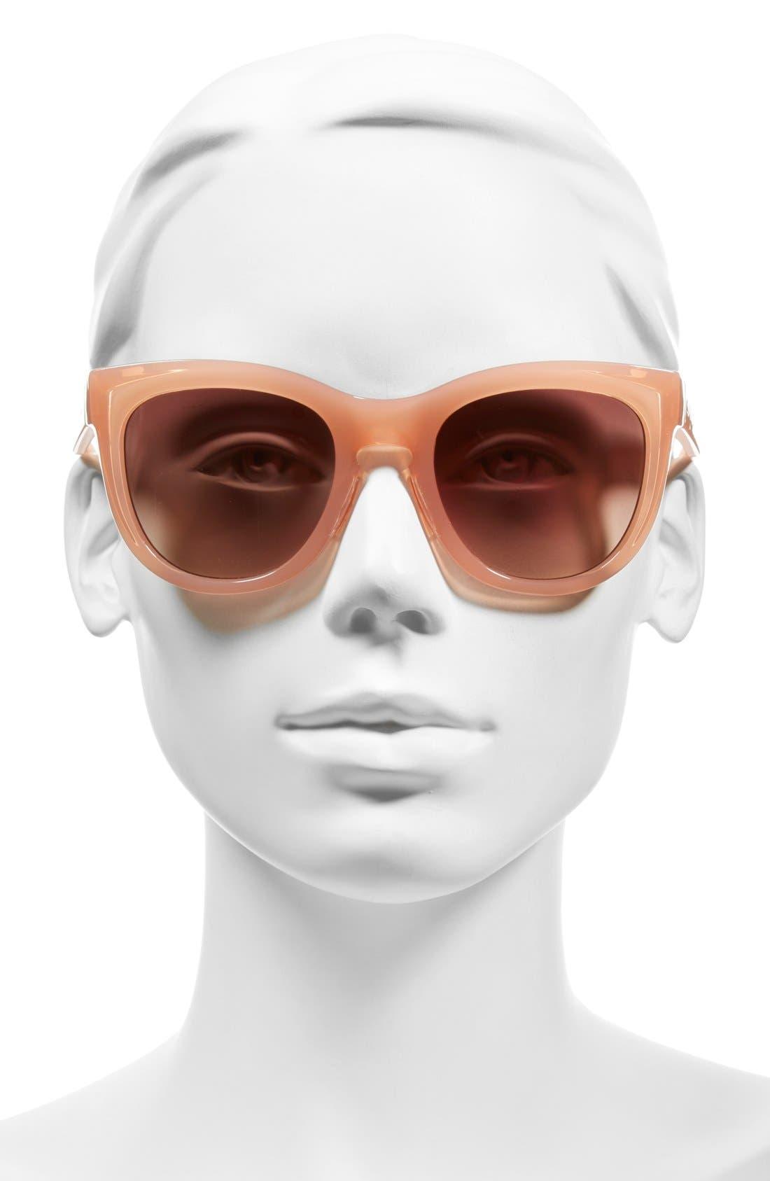 'Sidney' 52mm Sunglasses,                             Alternate thumbnail 6, color,