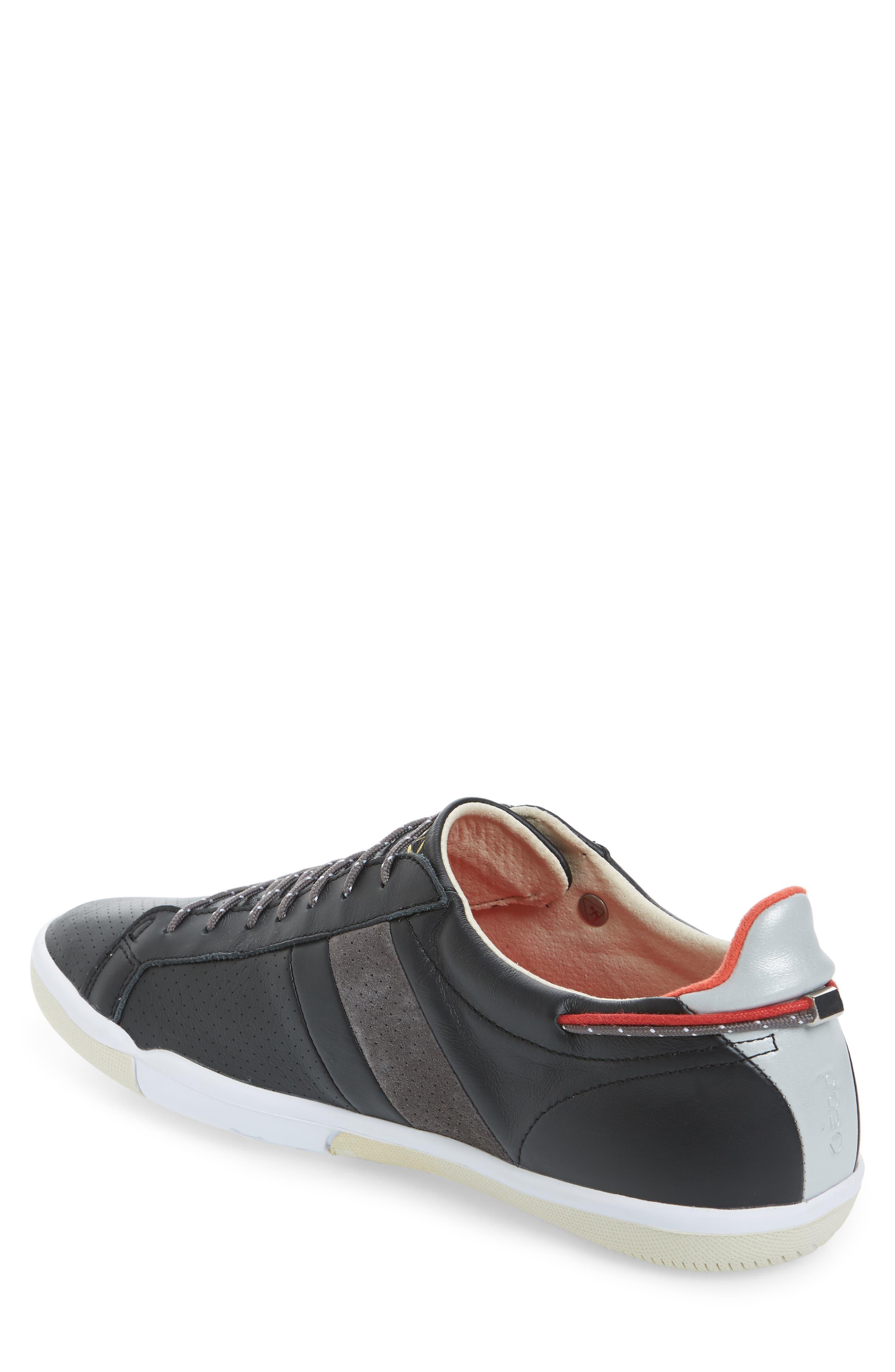 Mulberry Low Top Sneaker,                             Alternate thumbnail 2, color,                             BLACK