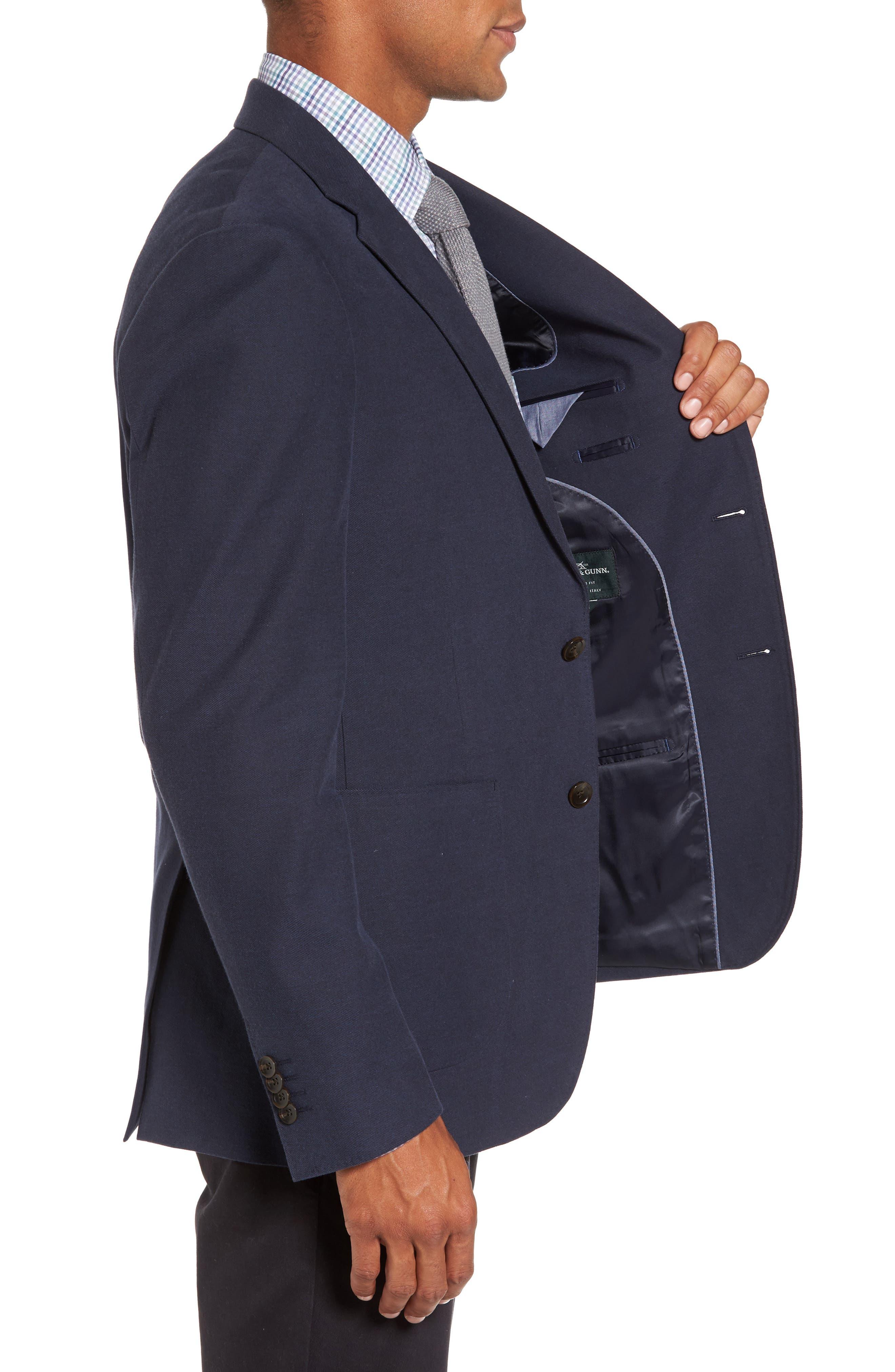 Pembroke Sports Fit Twill Jacket,                             Alternate thumbnail 3, color,                             410