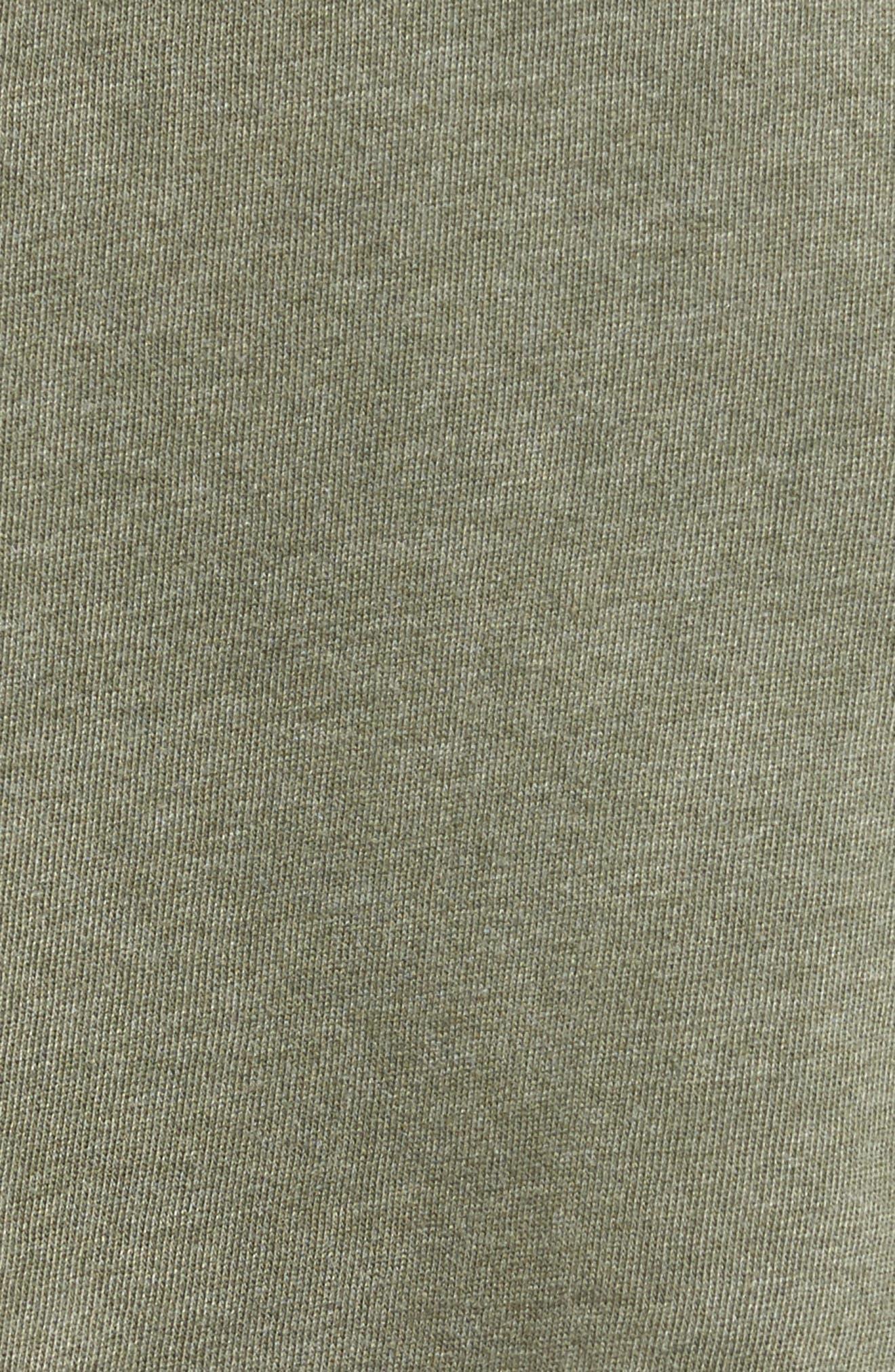 Ripped Sweatshirt Dress,                             Alternate thumbnail 5, color,                             309
