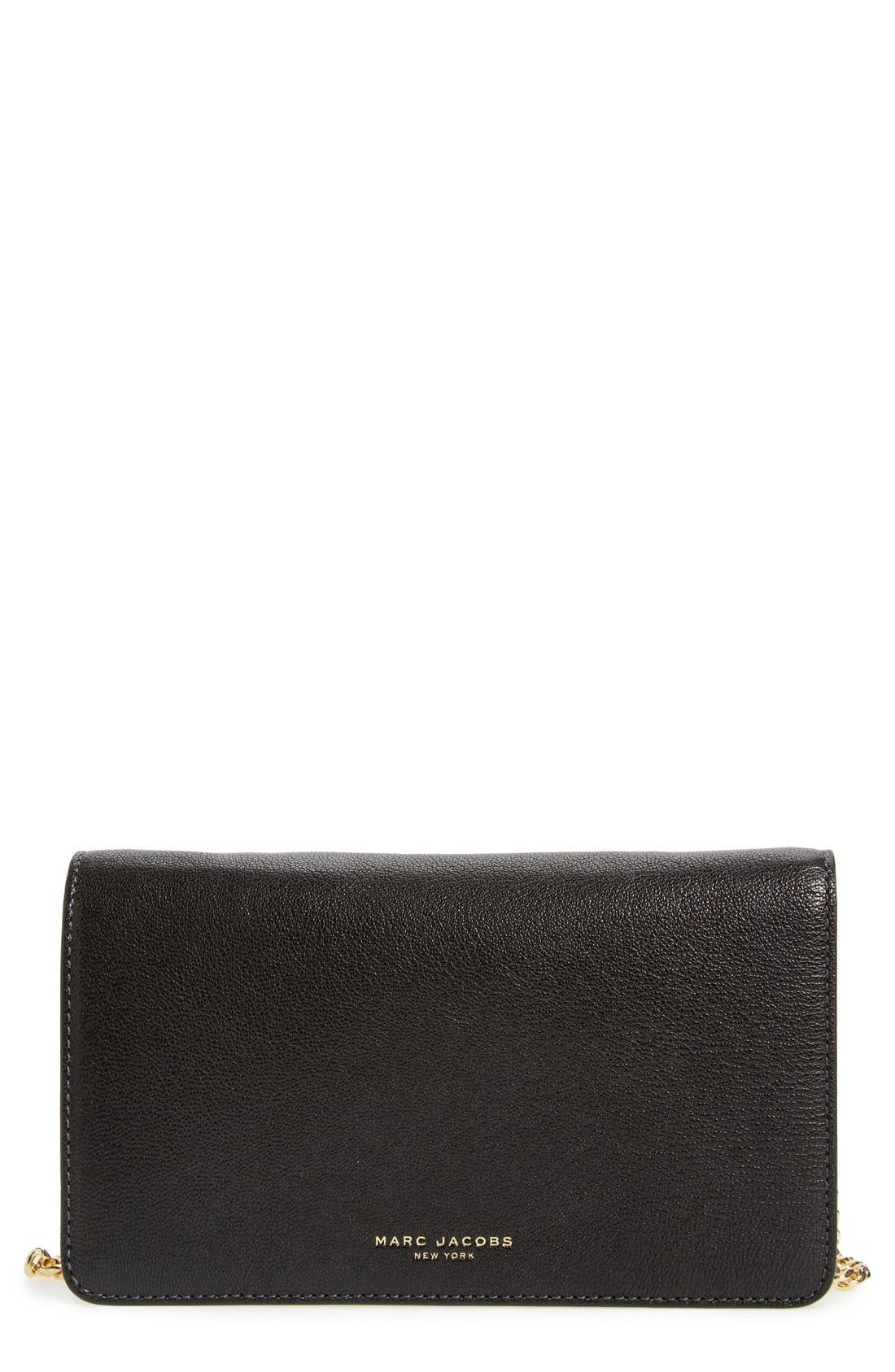 'Perry' Wallet on a Chain, Main, color, 001