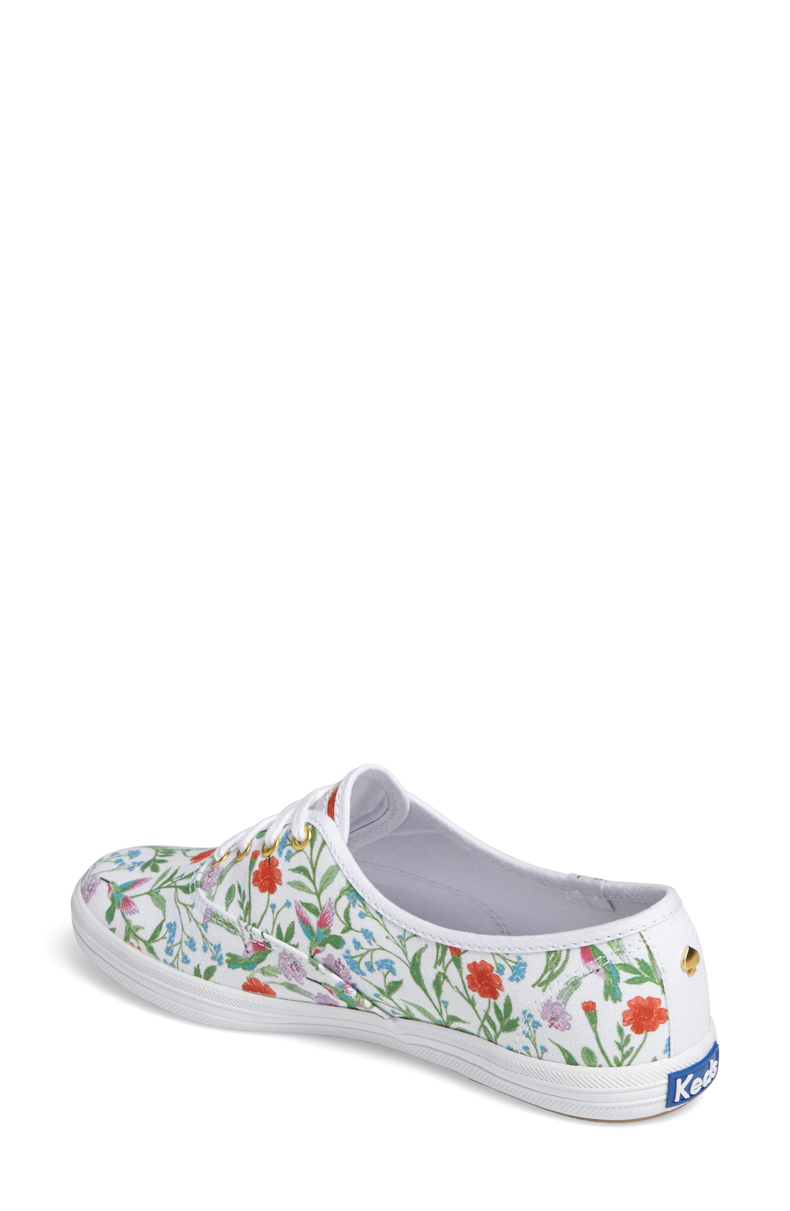 Keds<sup>®</sup> x kate spade new york champion sneaker,                             Alternate thumbnail 7, color,