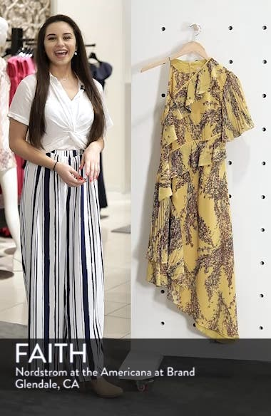 Asymmetrical Ruffle Dress, sales video thumbnail
