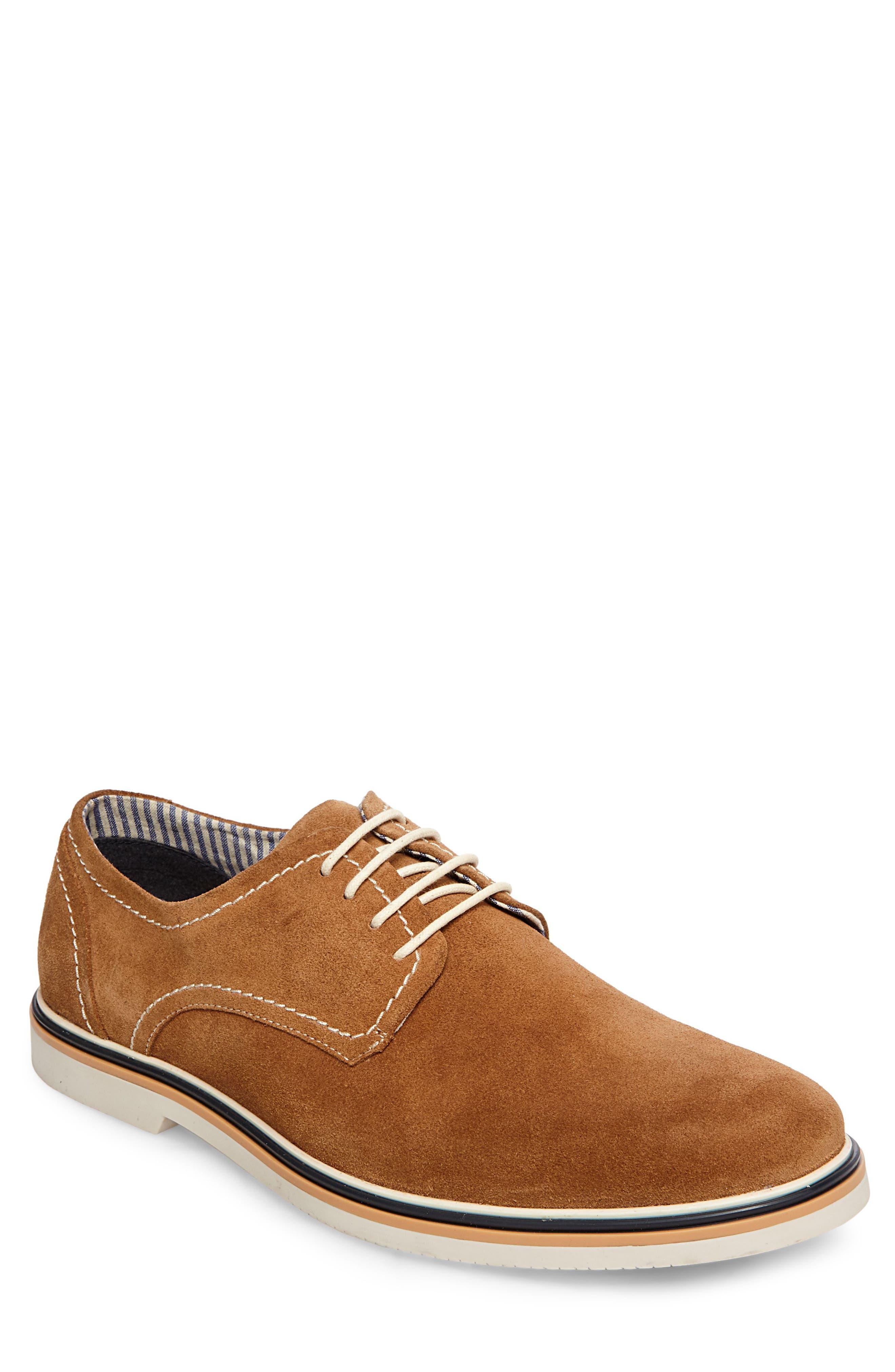 Frick Buck Shoe,                         Main,                         color, TAN SUEDE