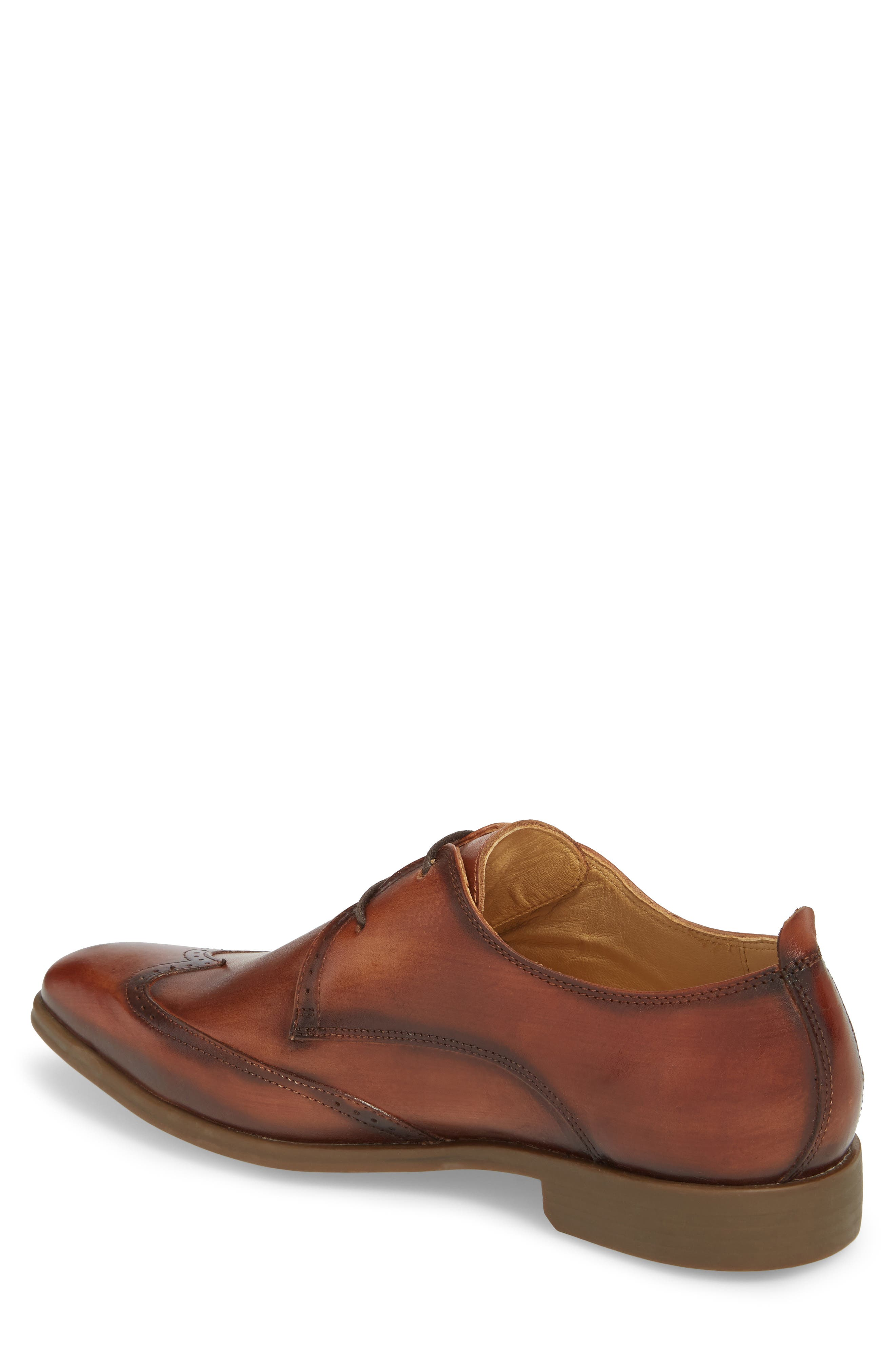 Ben Wingtip Derby,                             Alternate thumbnail 2, color,                             TOUCH BRONZE BRUSHED LEATHER