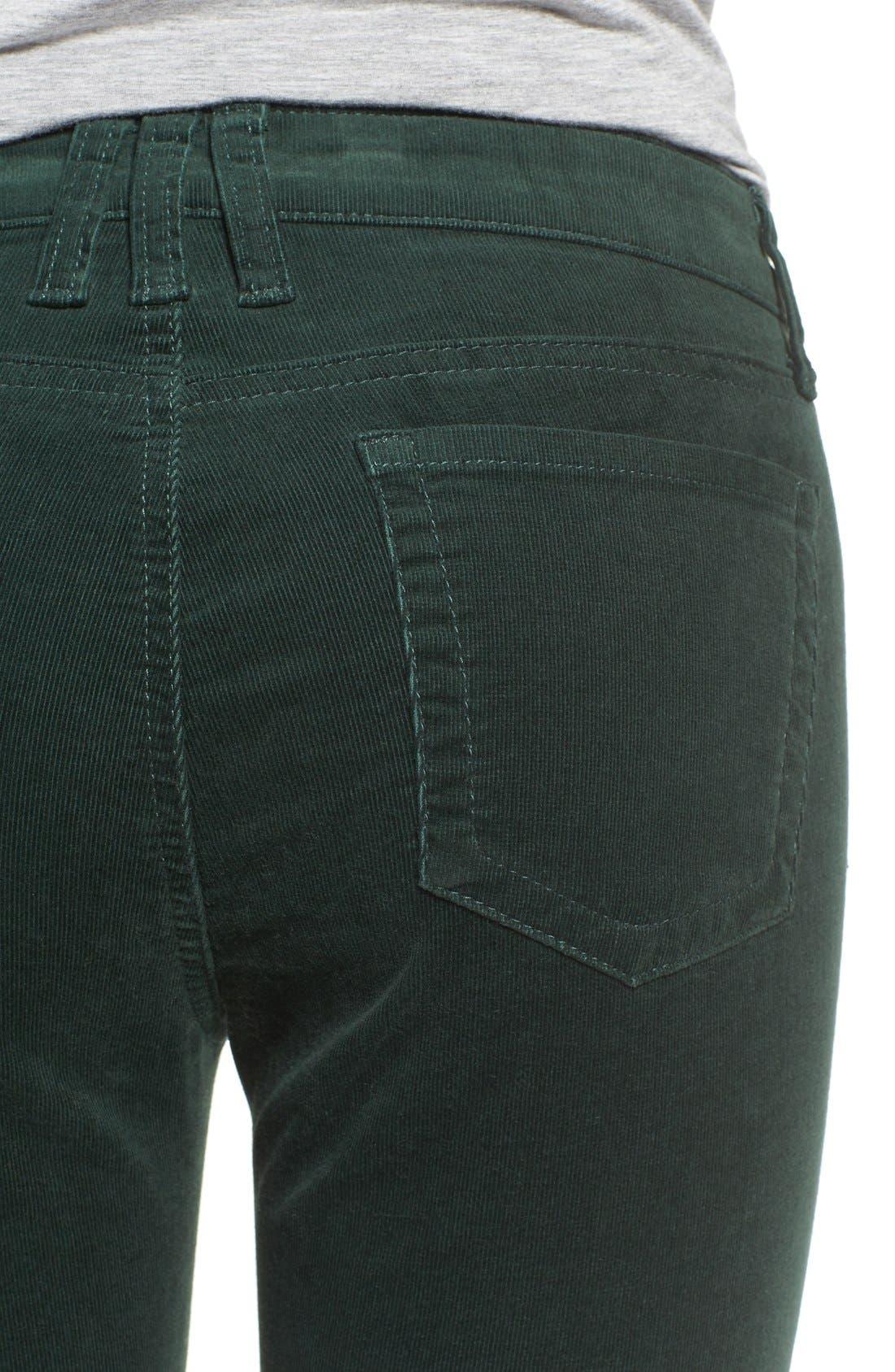 'Diana' Stretch Corduroy Skinny Pants,                             Alternate thumbnail 131, color,