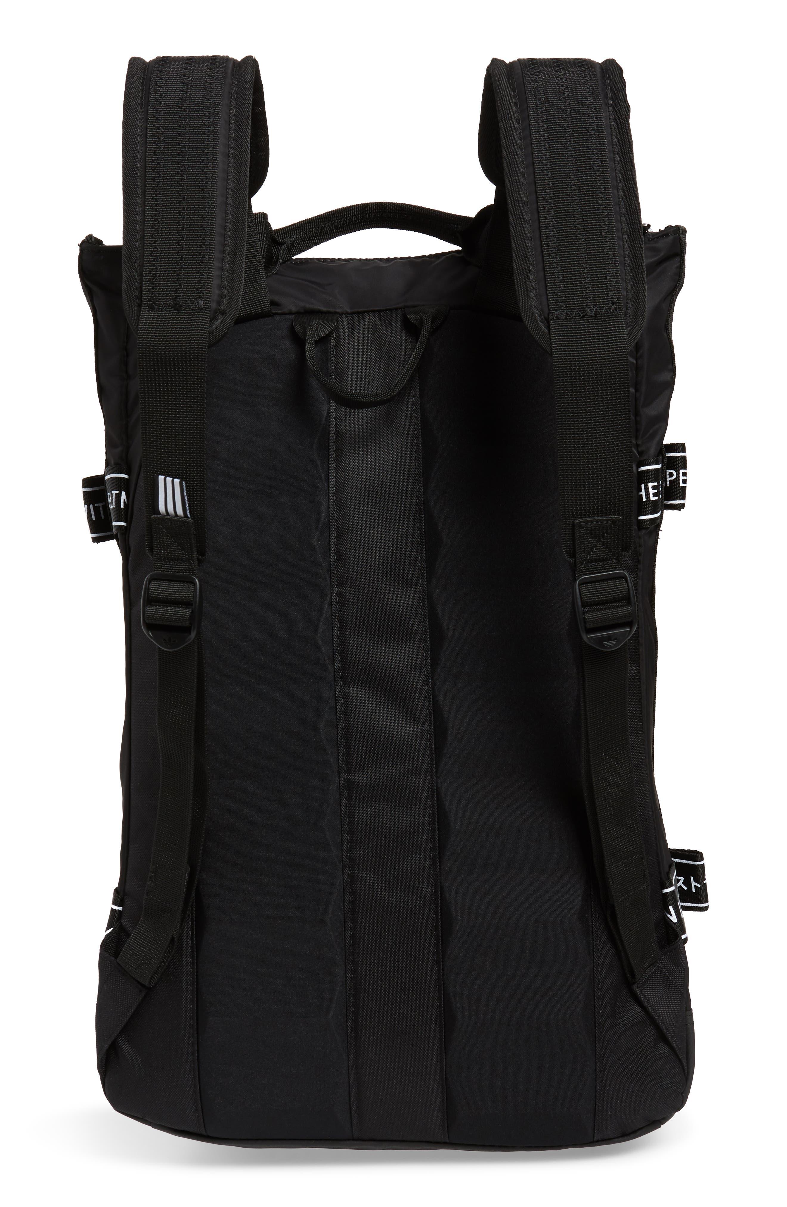 adidas NMD Backpack,                             Alternate thumbnail 3, color,                             BLACK