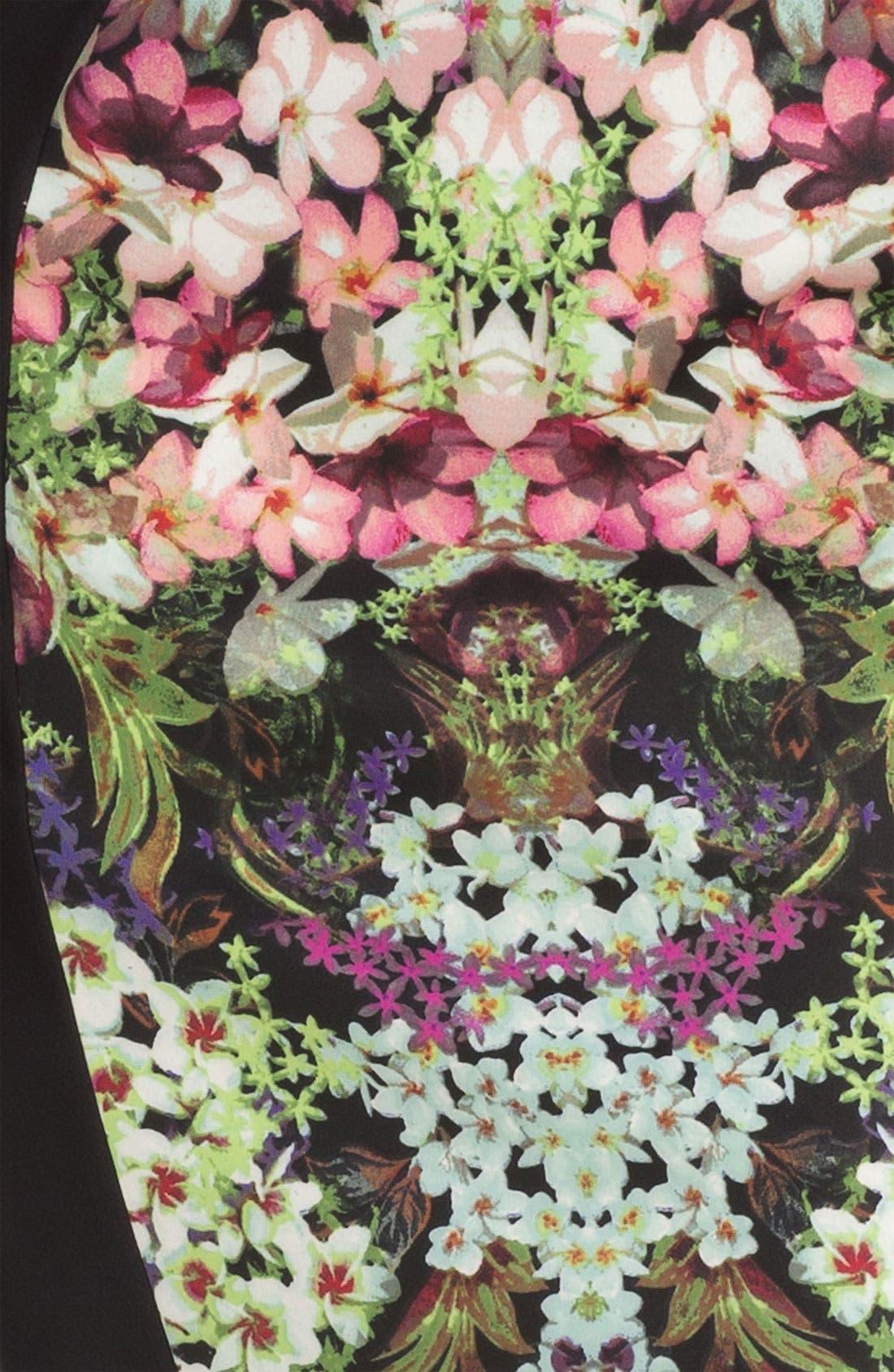 Print Sheath Dress,                             Alternate thumbnail 2, color,                             013