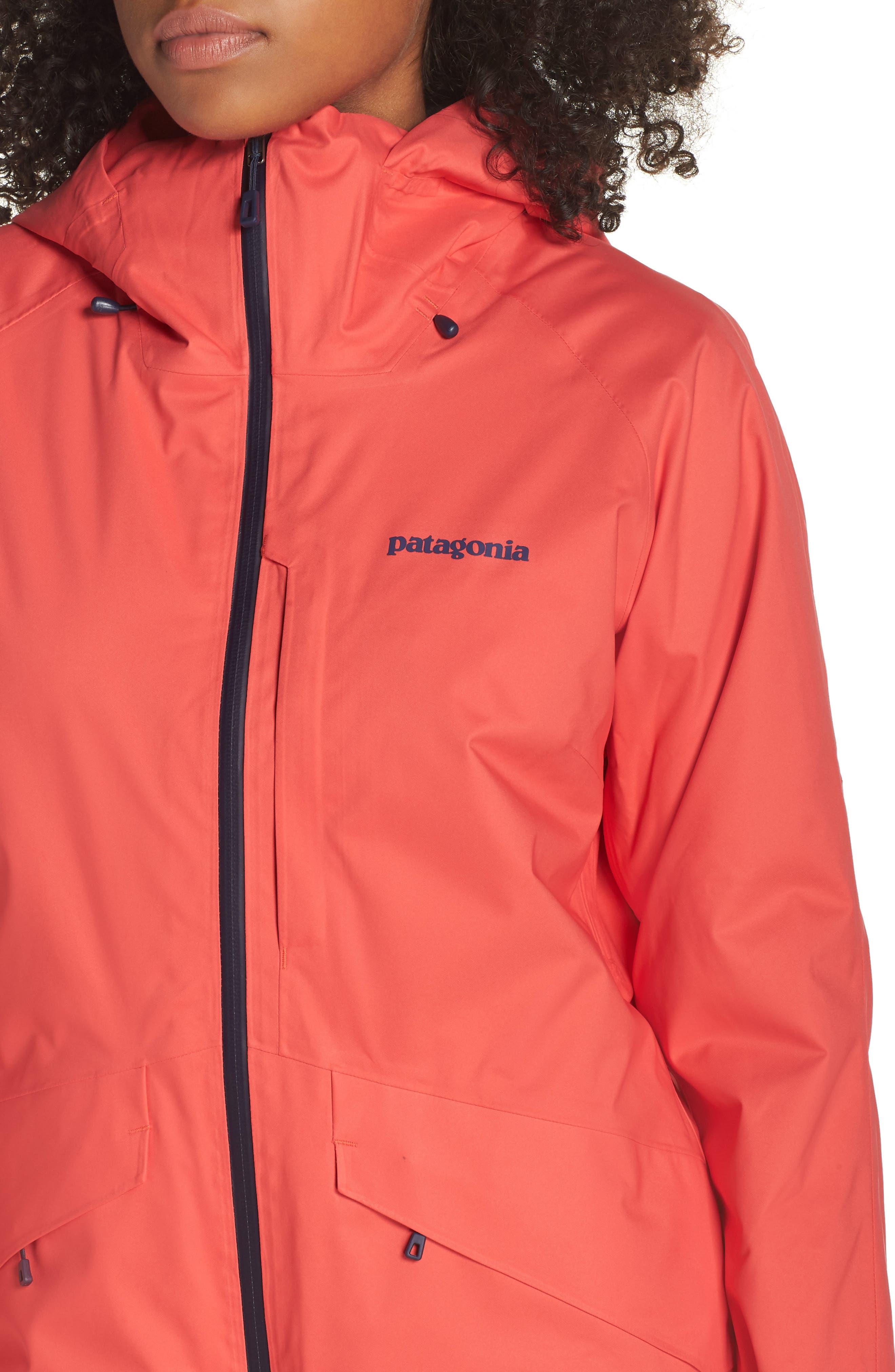 PATAGONIA,                             Snowbelle Insulated Ski Jacket,                             Alternate thumbnail 4, color,                             601