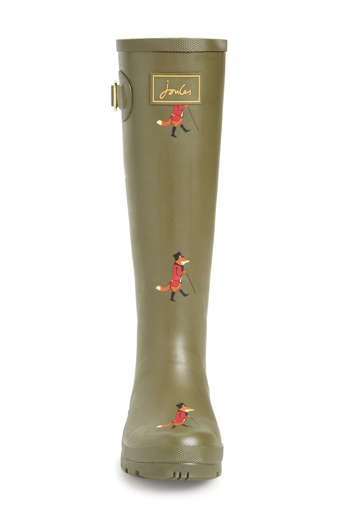 'Welly' Print Rain Boot,                             Alternate thumbnail 86, color,