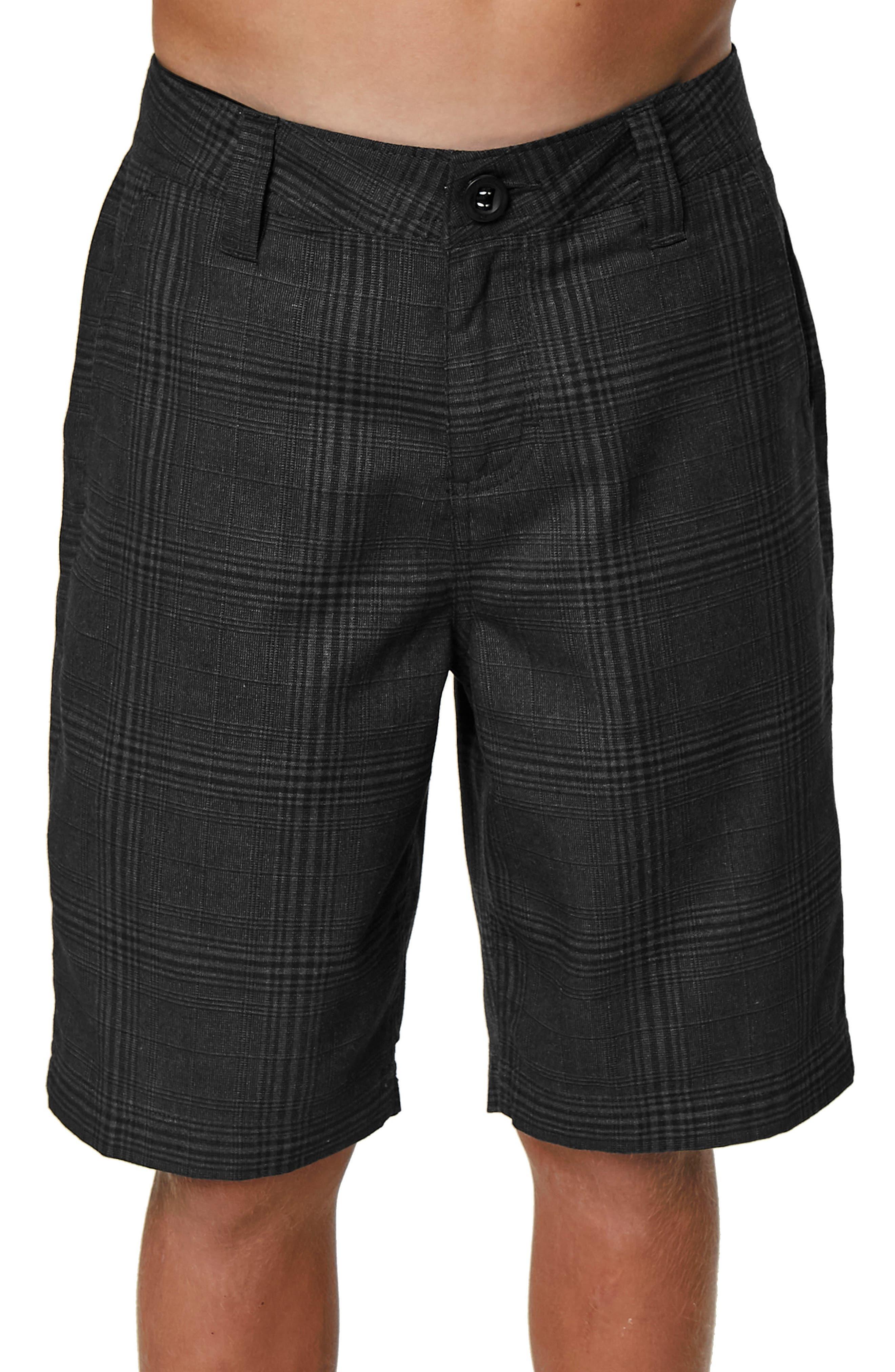 Bristol Plaid Shorts,                             Alternate thumbnail 2, color,                             001
