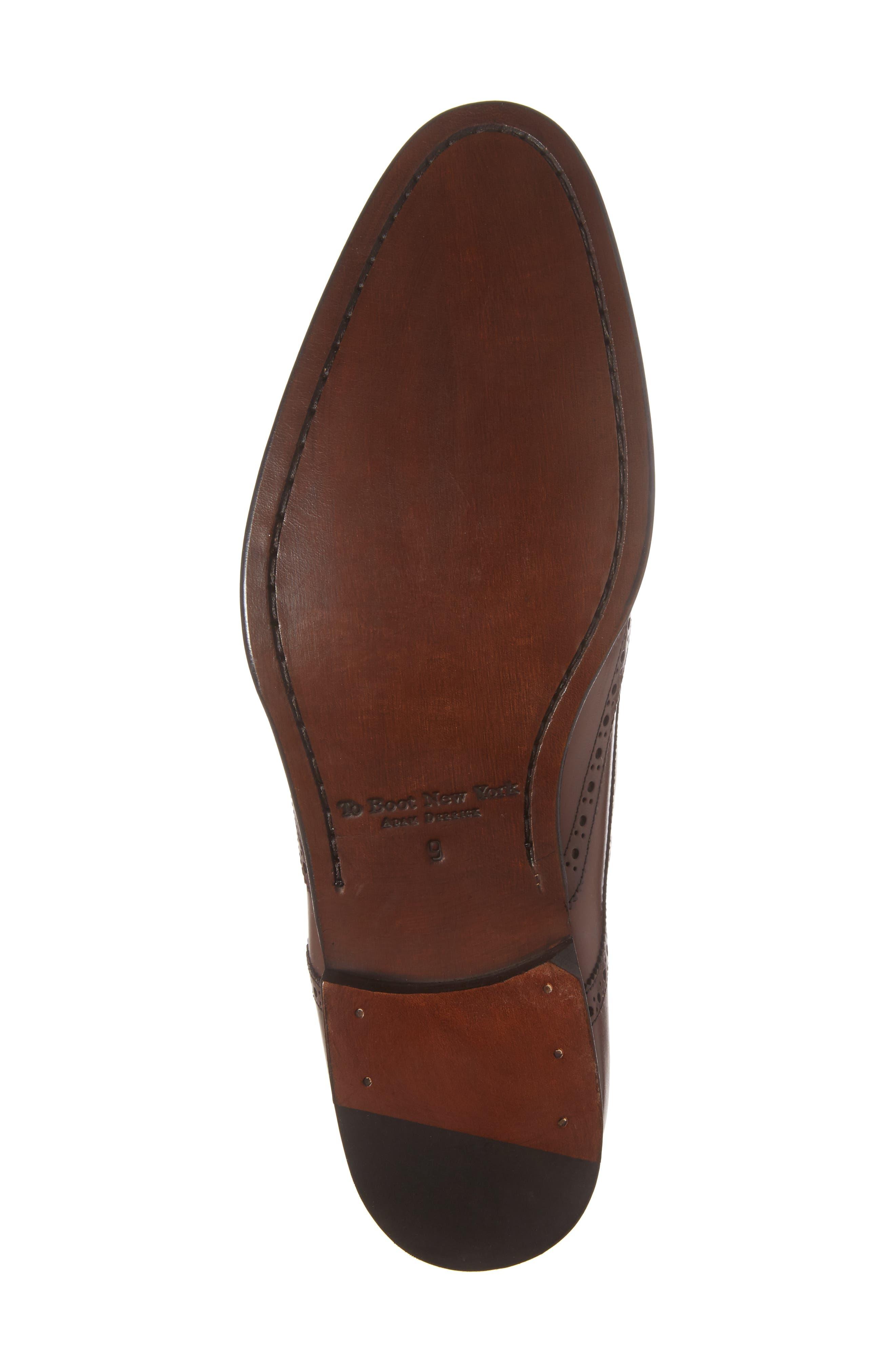 Pike Double Monk Strap Shoe,                             Alternate thumbnail 6, color,