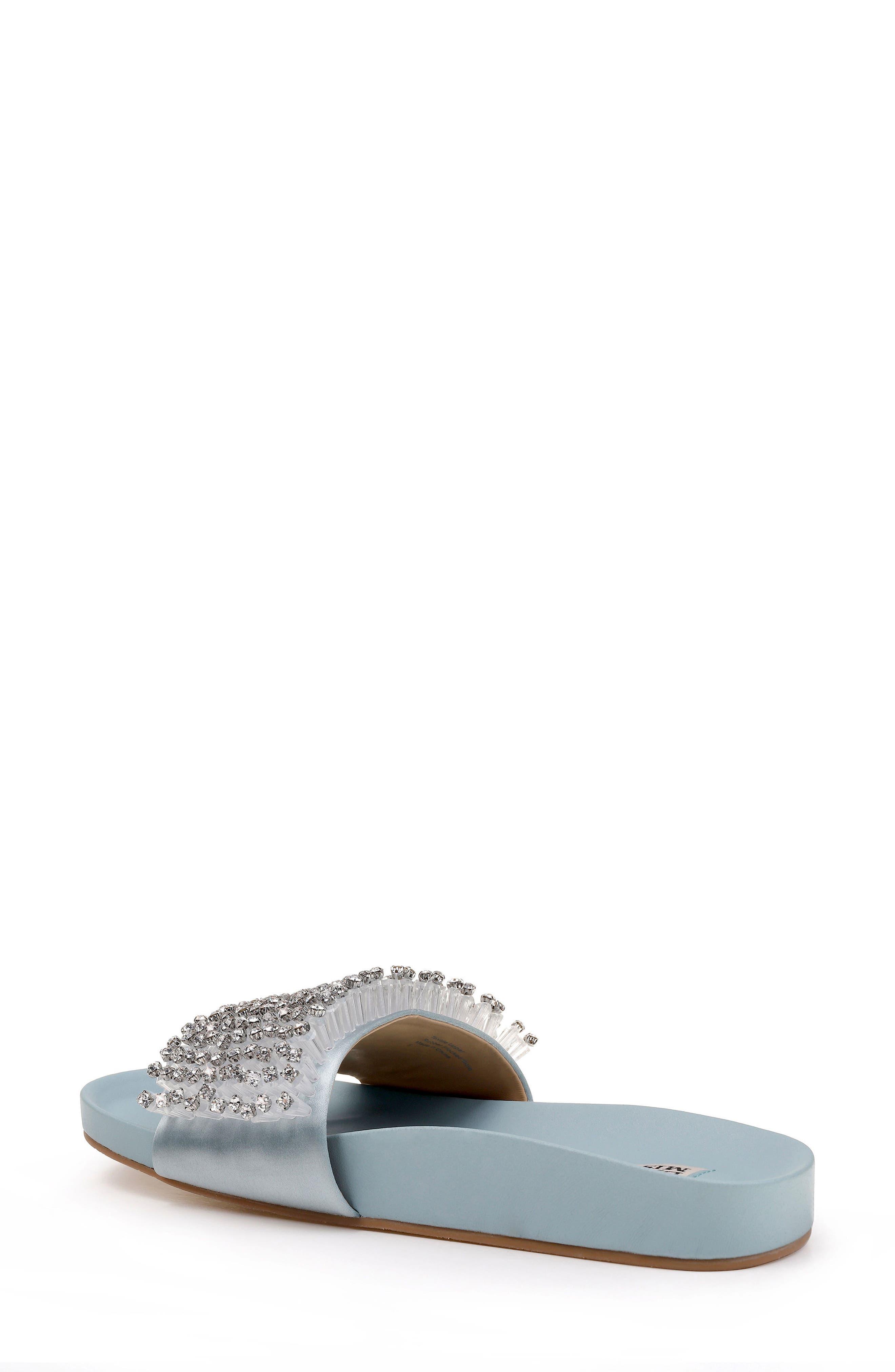 Horton Crystal Embellished Sandal,                             Alternate thumbnail 7, color,