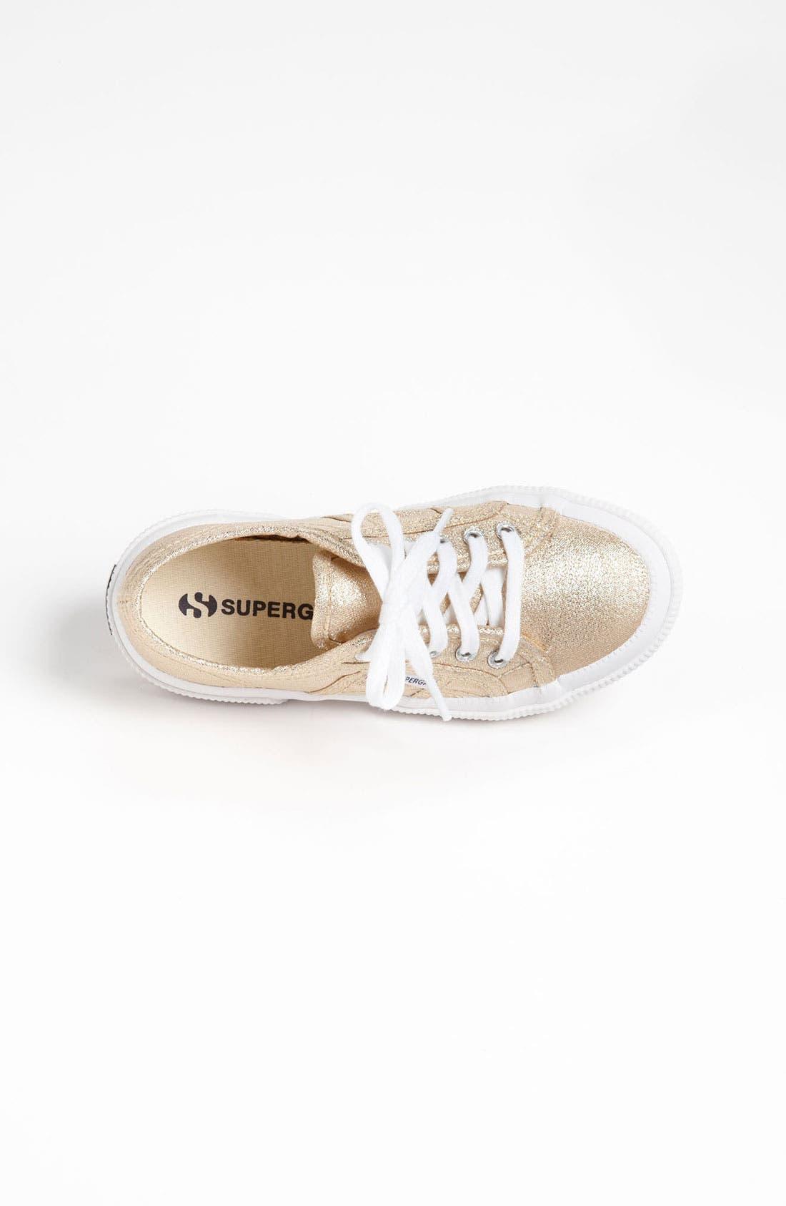 'Classic Glitter' Sneaker,                             Alternate thumbnail 3, color,                             710