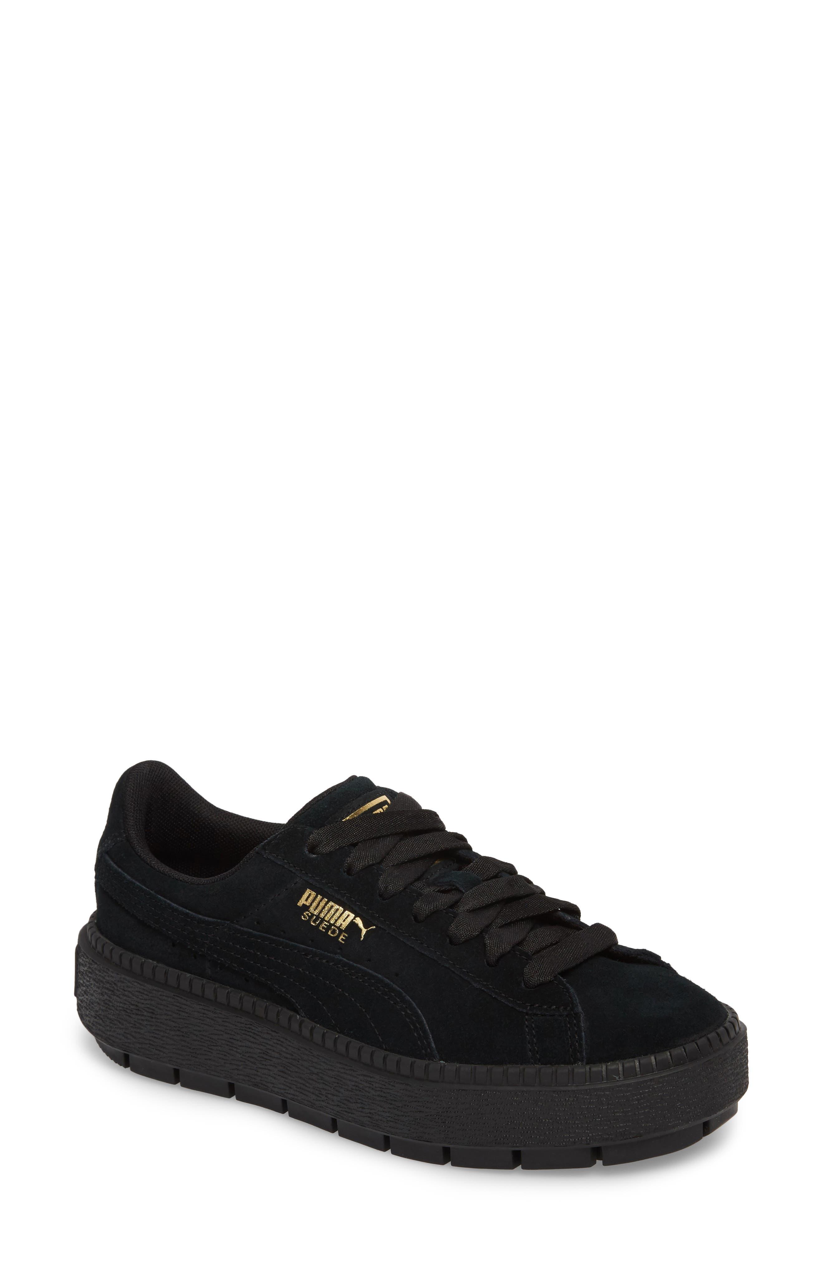 Trace Platform Sneaker,                             Main thumbnail 1, color,                             001