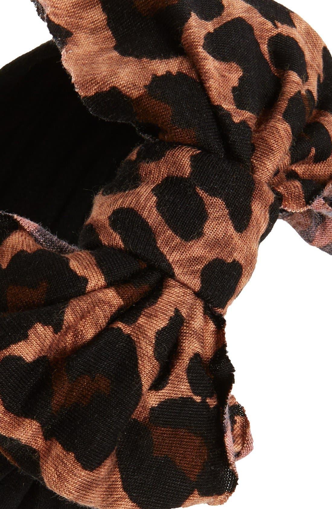 Jersey Bow Headband,                             Alternate thumbnail 22, color,