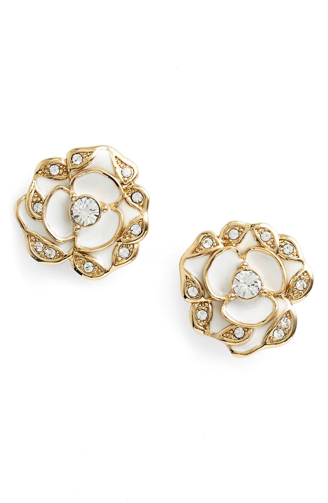 'beach house bouquet' flower stud earrings,                             Main thumbnail 1, color,                             100