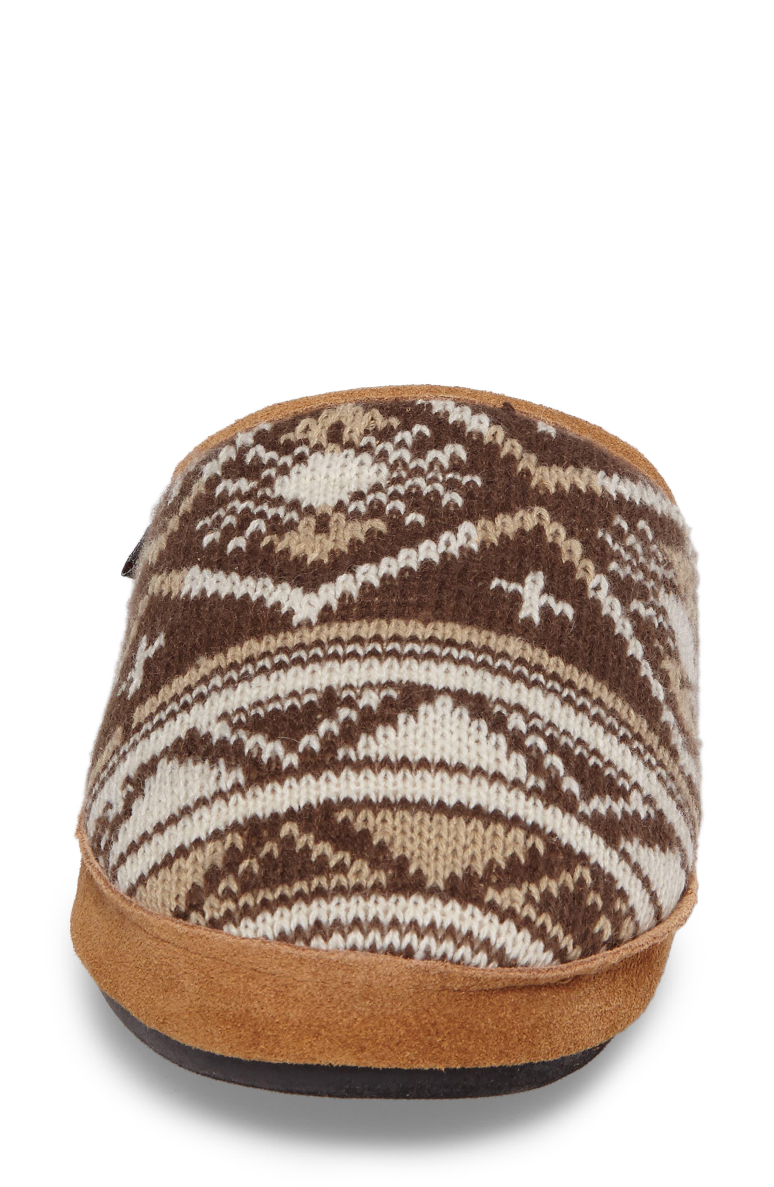 Whitecap Knit Slipper,                             Alternate thumbnail 4, color,                             235