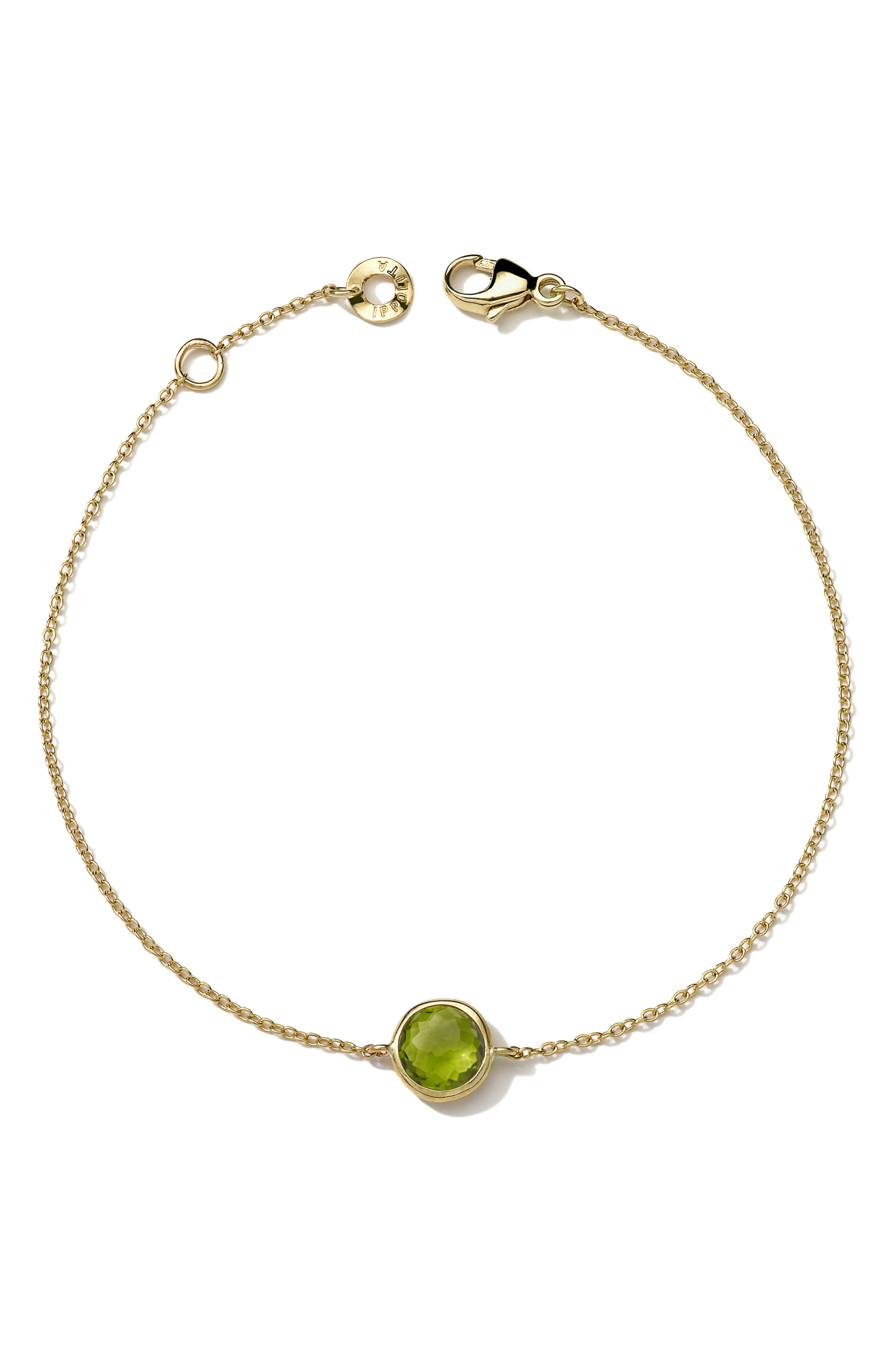 IPPOLITA,                             Lollipop Mini Gemstone Bracelet,                             Main thumbnail 1, color,                             306