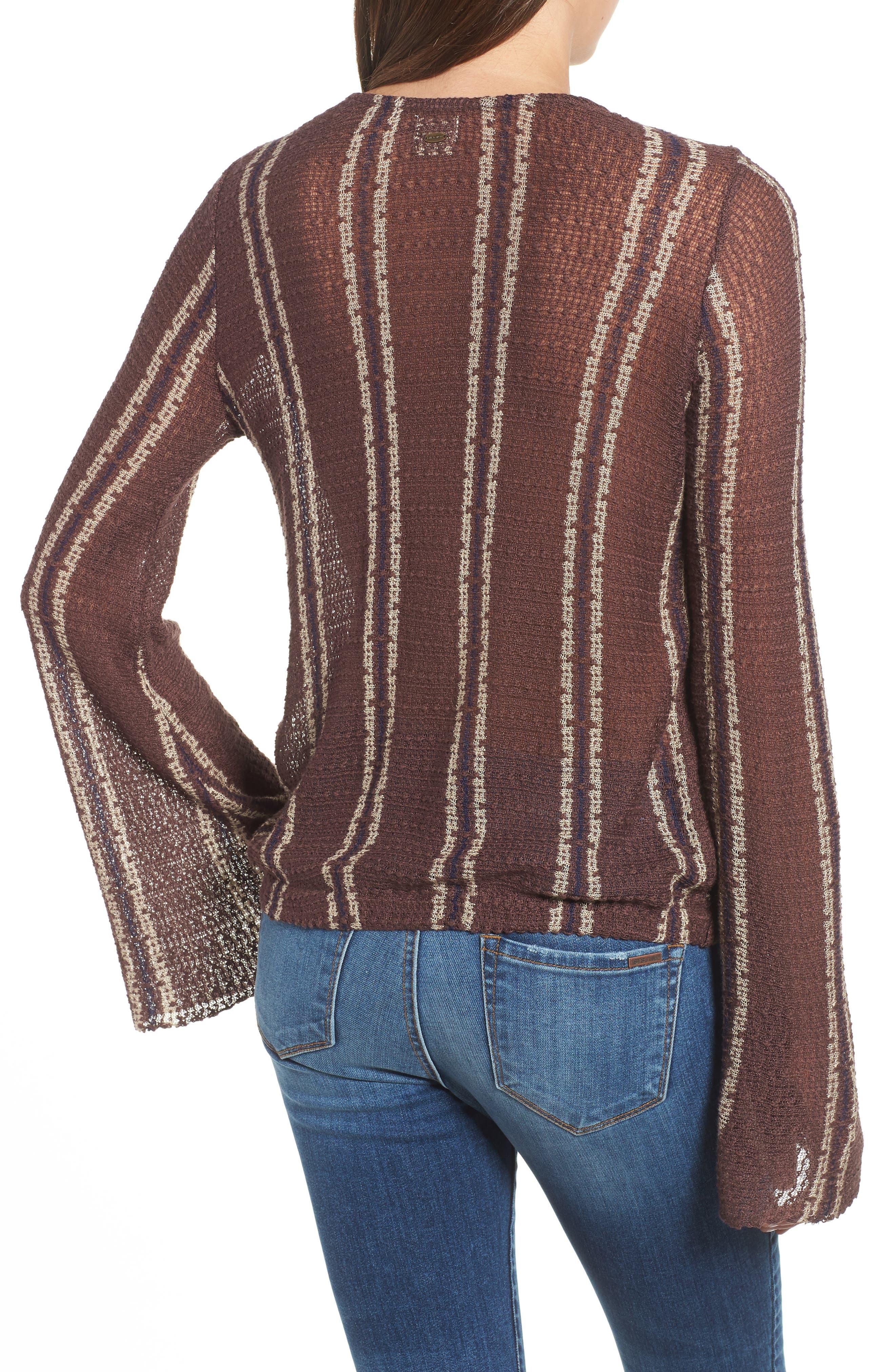 Sims Stripe Sweater,                             Alternate thumbnail 4, color,