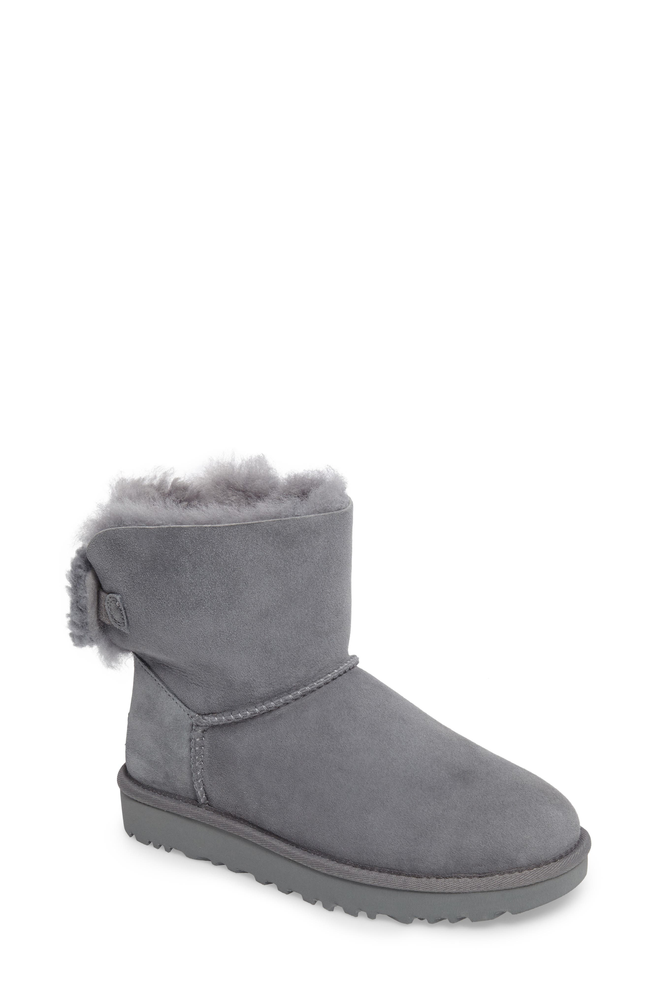 Arielle Genuine Shearling Bootie,                             Main thumbnail 3, color,