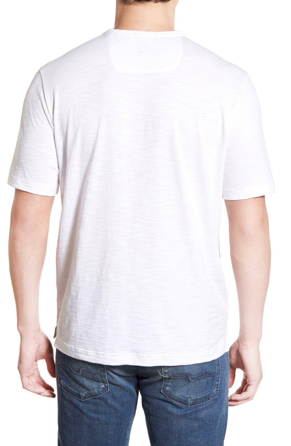 'Portside Player' Pima Cotton T-Shirt,                             Alternate thumbnail 32, color,