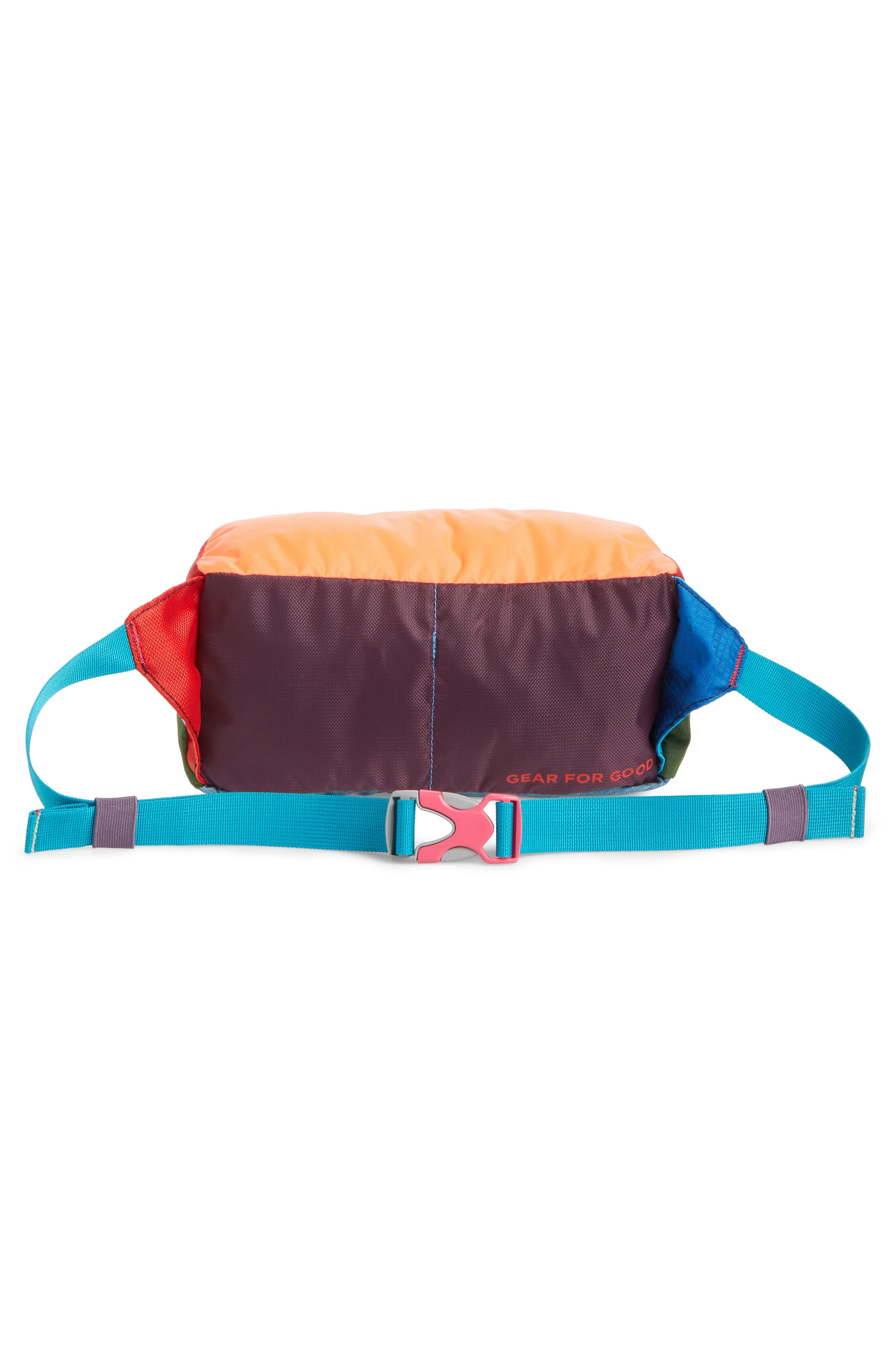 Bataan One of a Kind Duffel Fanny Pack,                             Alternate thumbnail 3, color,