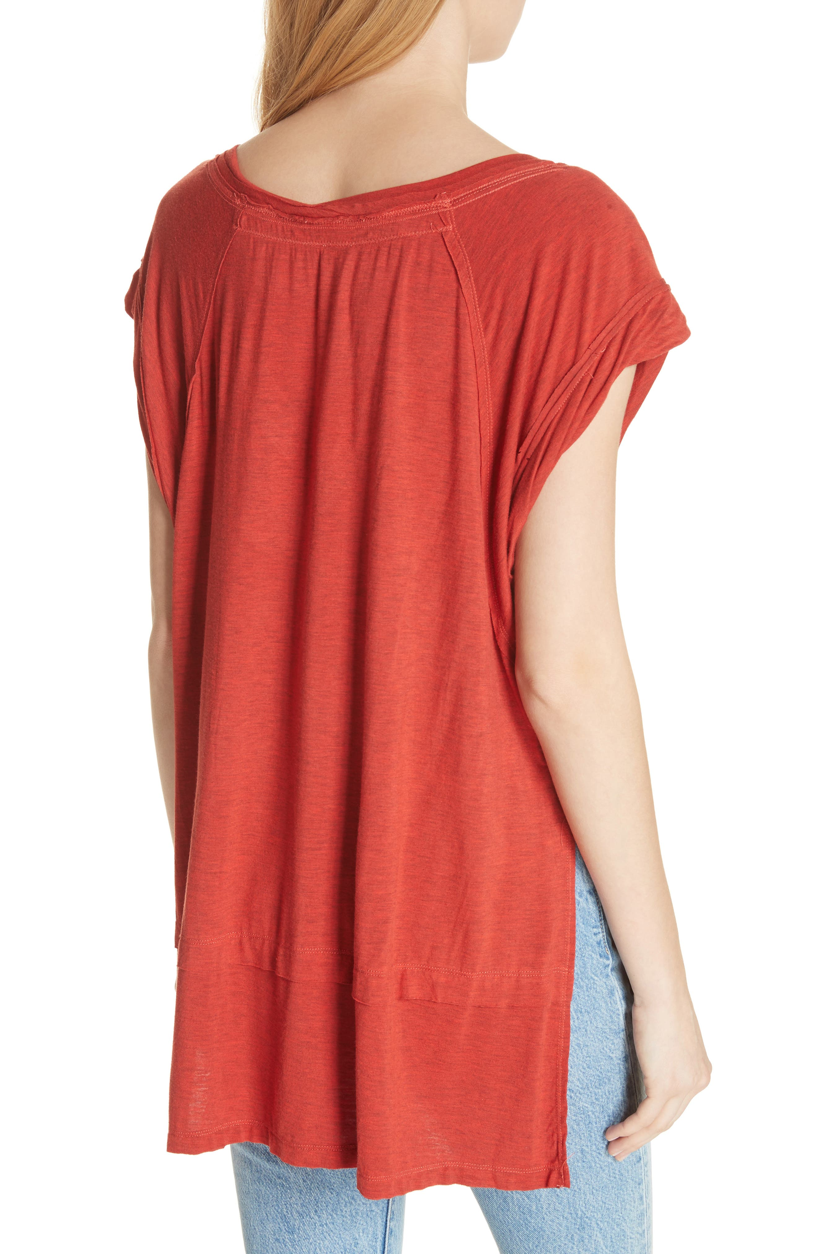 We the Free by Free People Voyage Tee,                             Alternate thumbnail 10, color,