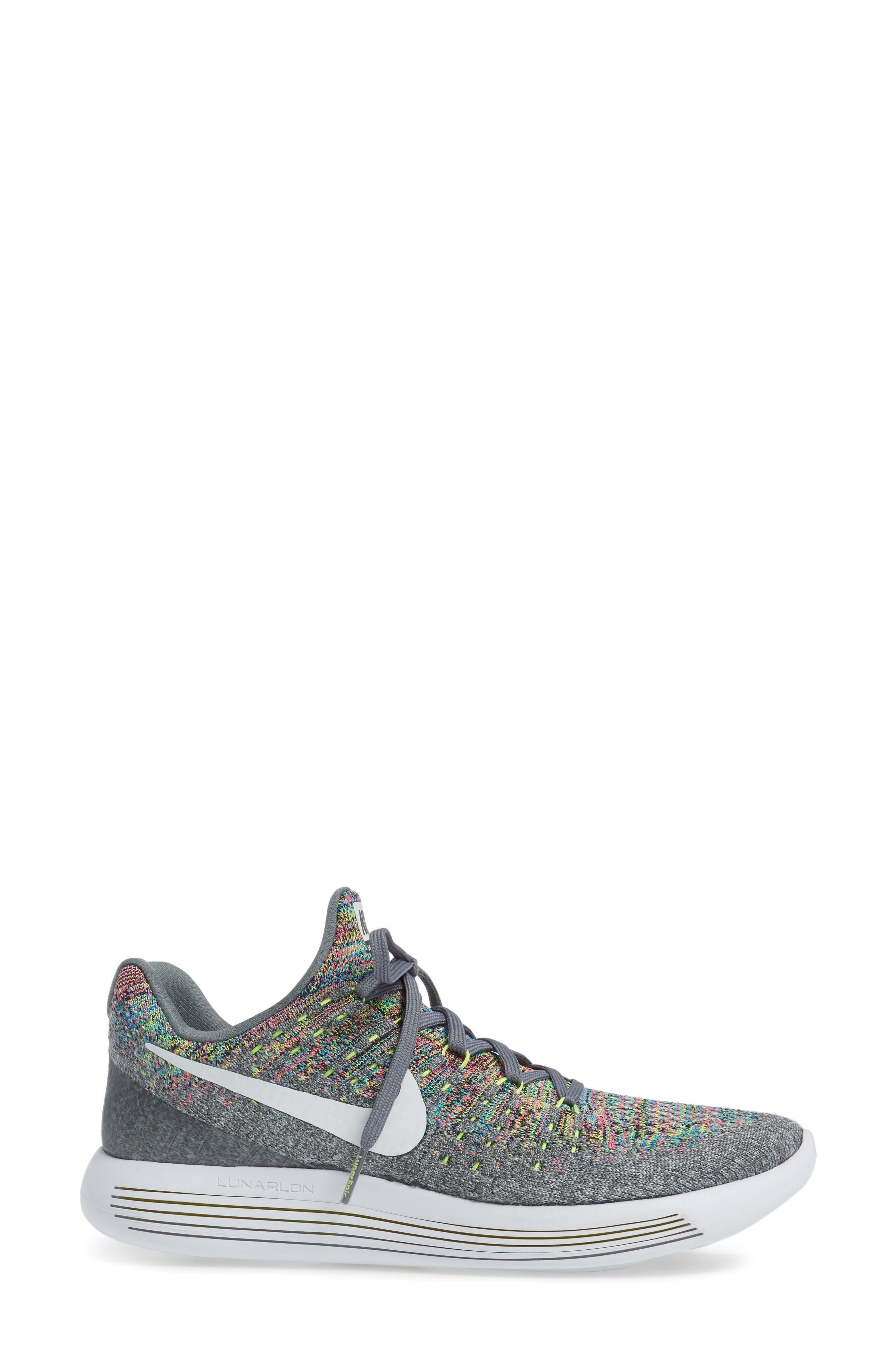 LunarEpic Low Flyknit 2 Running Shoe,                             Alternate thumbnail 50, color,