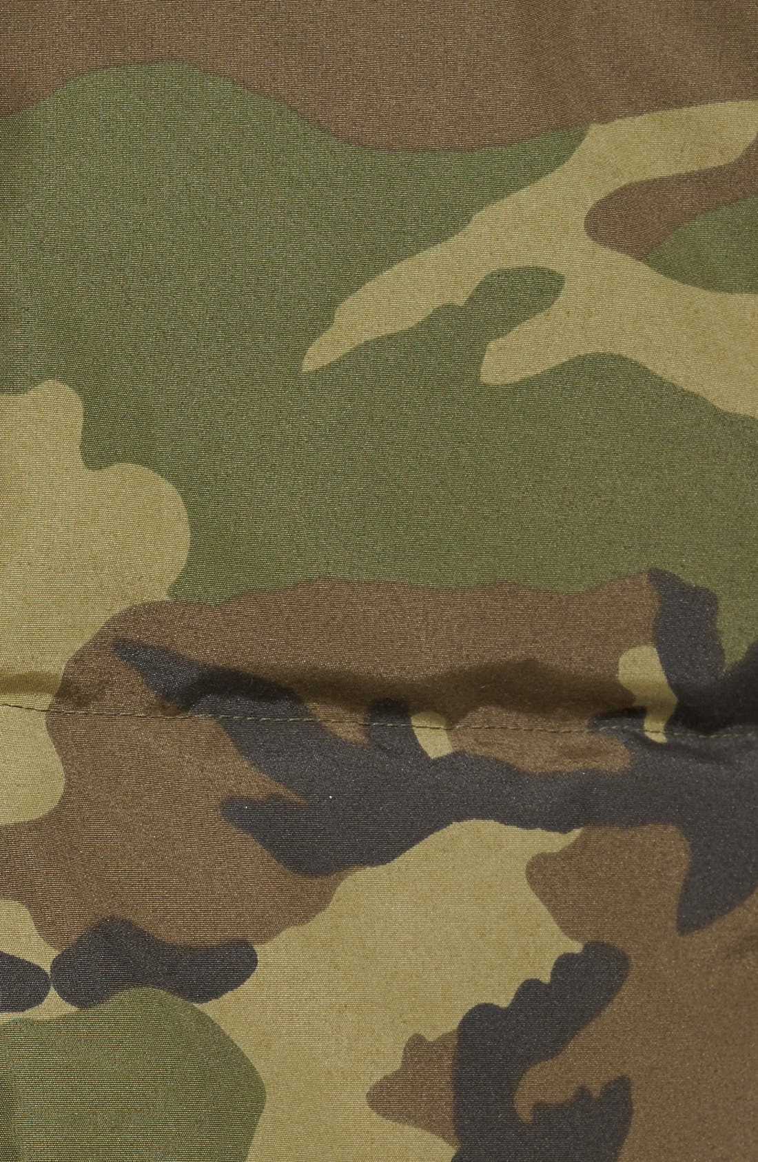 'MacMillan' Slim Fit Hooded Parka,                             Alternate thumbnail 4, color,                             CLASSIC CAMO