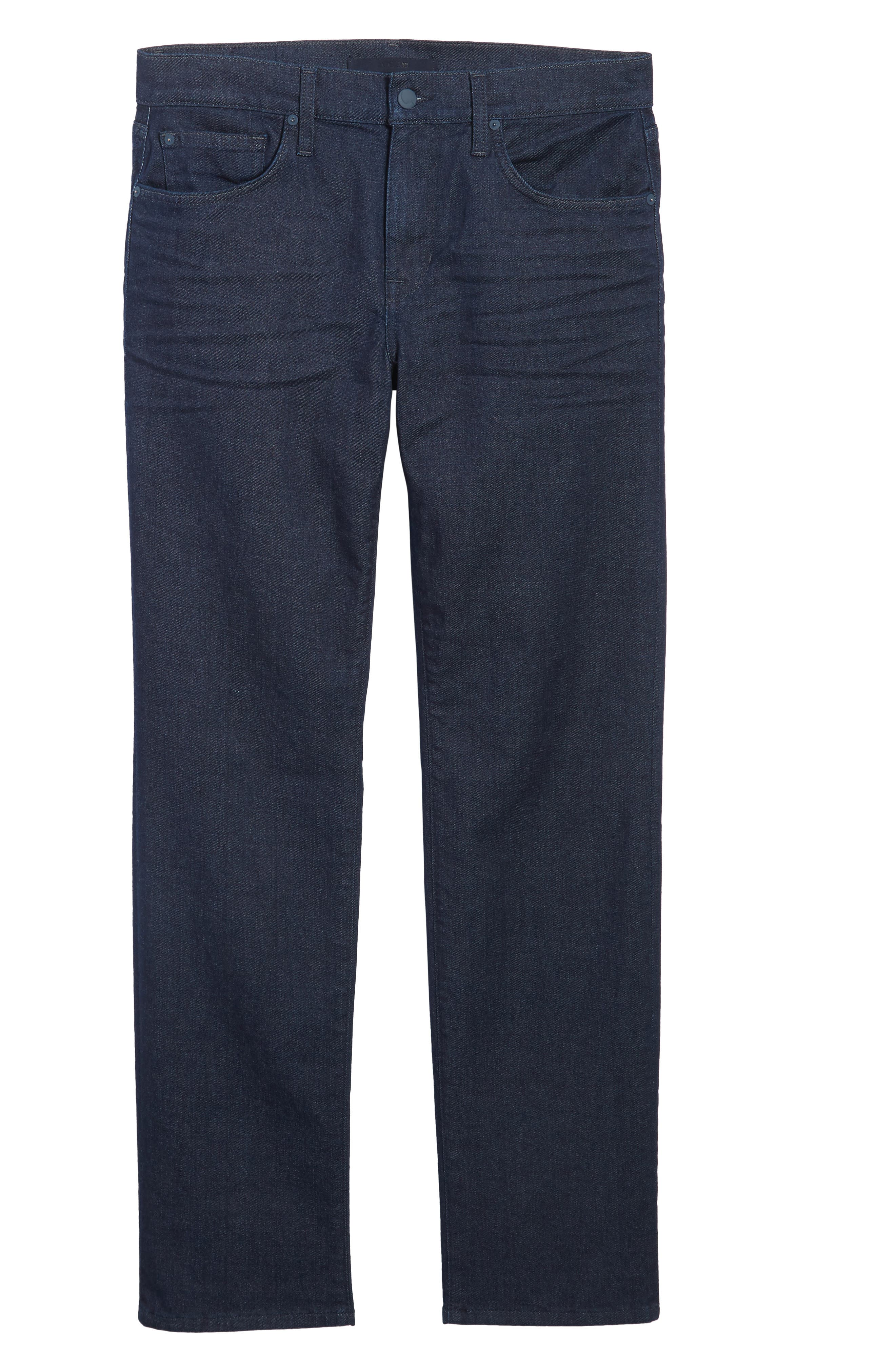 Classic Straight Fit Jeans,                             Alternate thumbnail 6, color,                             403