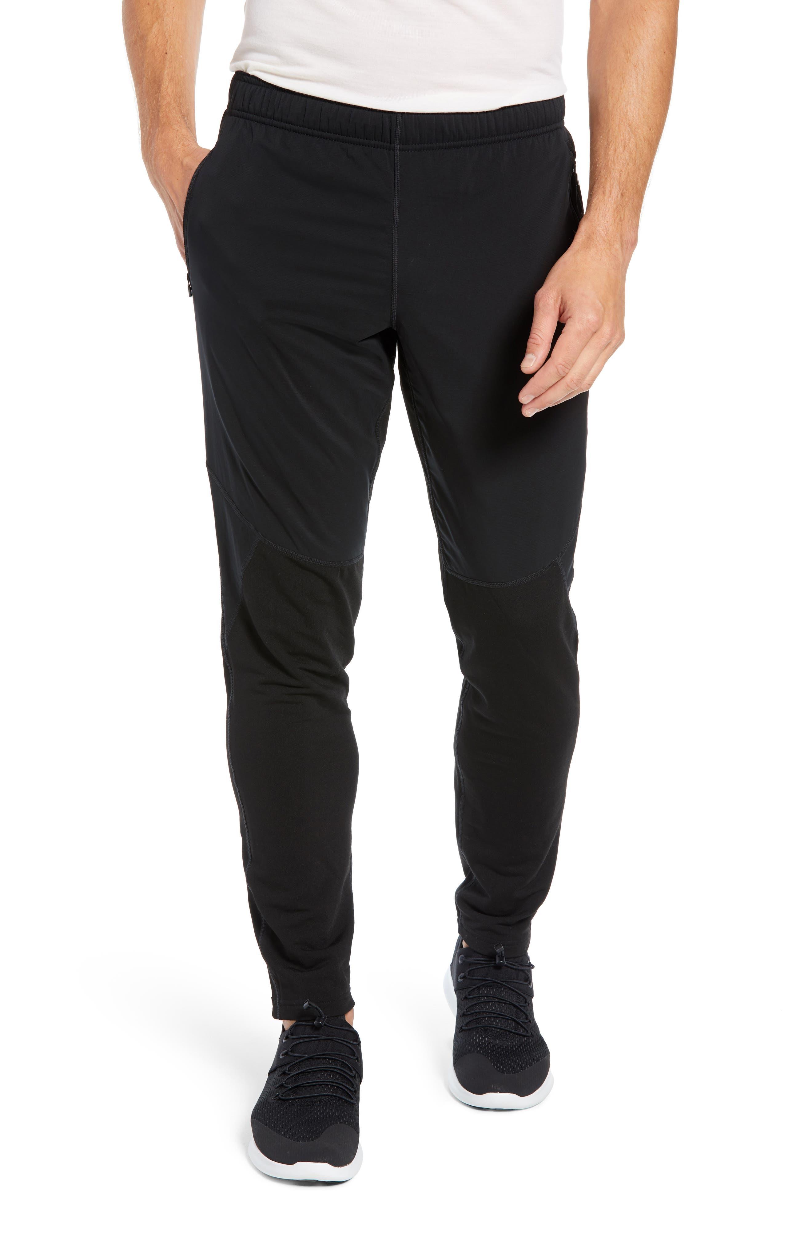 Tech Trainer Hybrid Sport Pants,                             Main thumbnail 1, color,                             BLACK