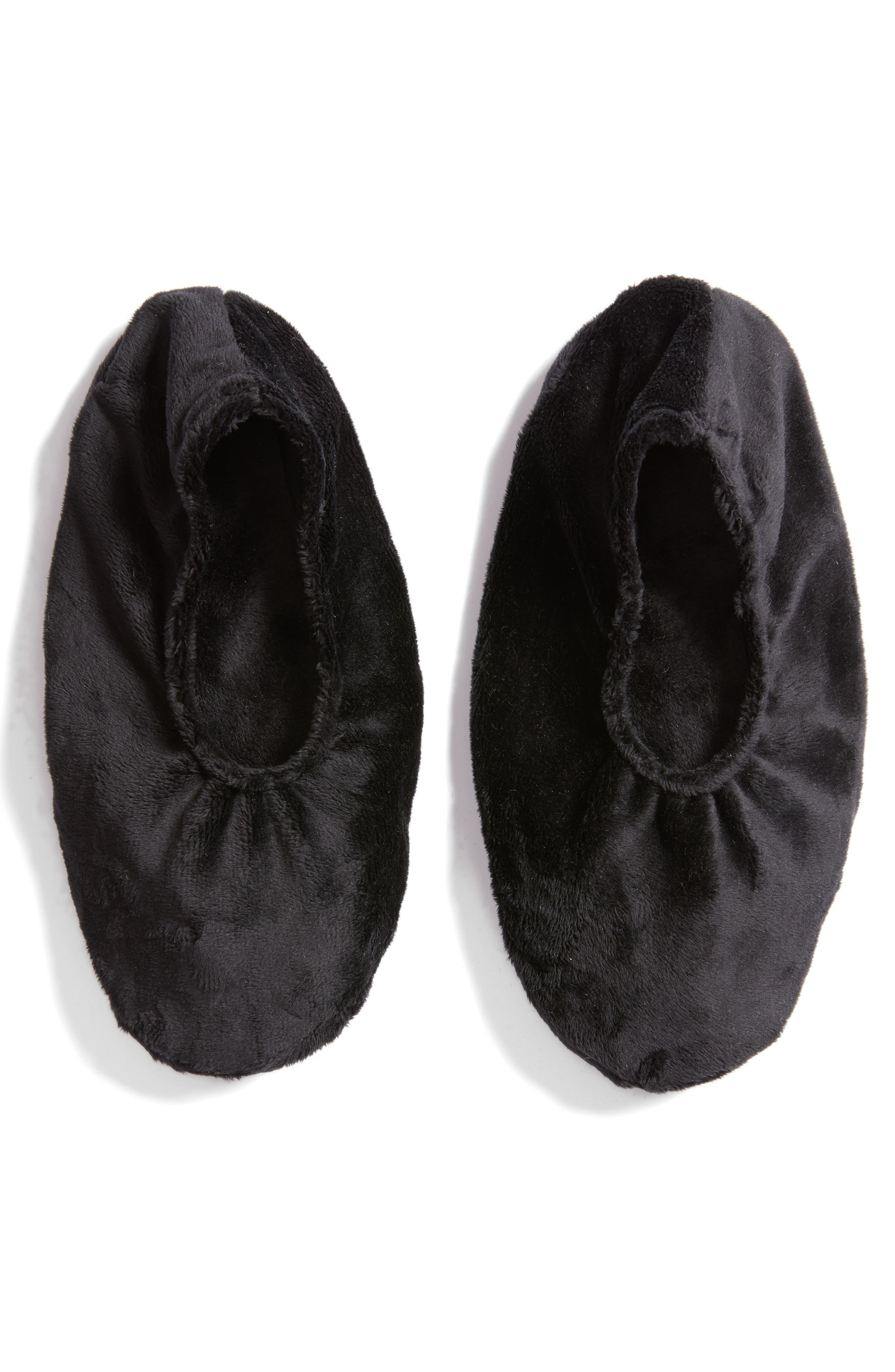 Solid Black Footies,                             Main thumbnail 1, color,                             000