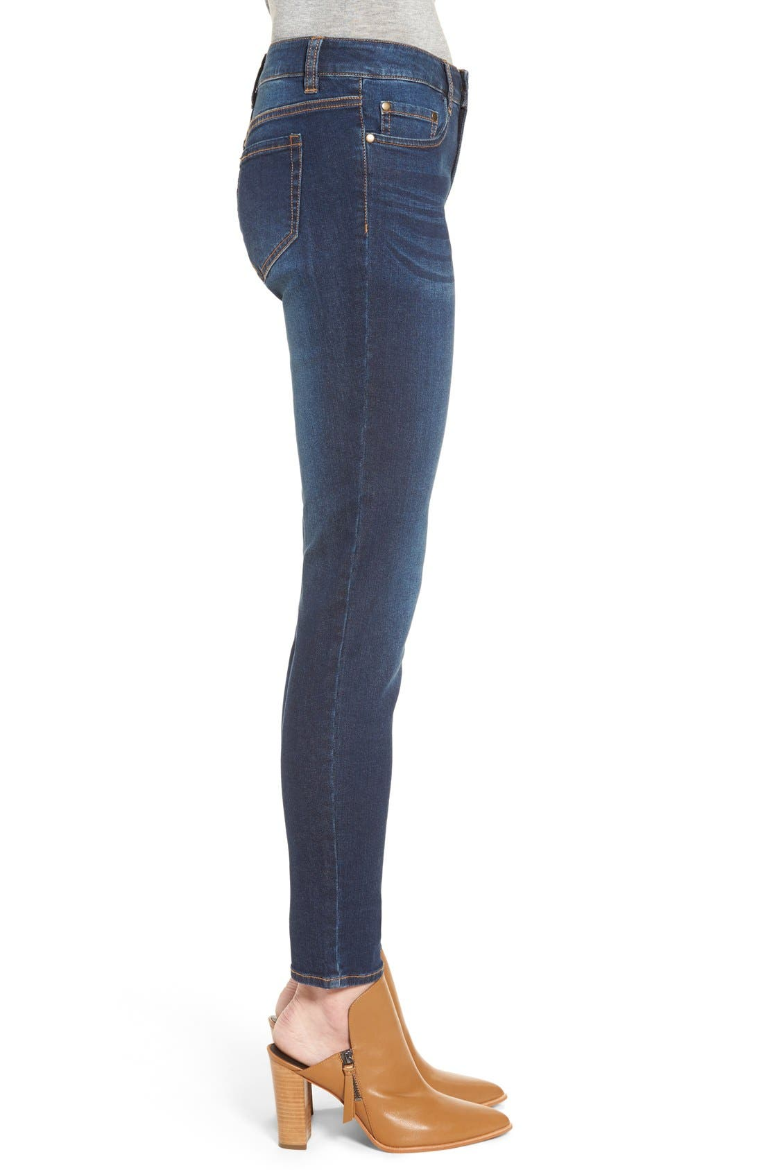 Mid Rise Skinny Jeans,                             Alternate thumbnail 6, color,                             420