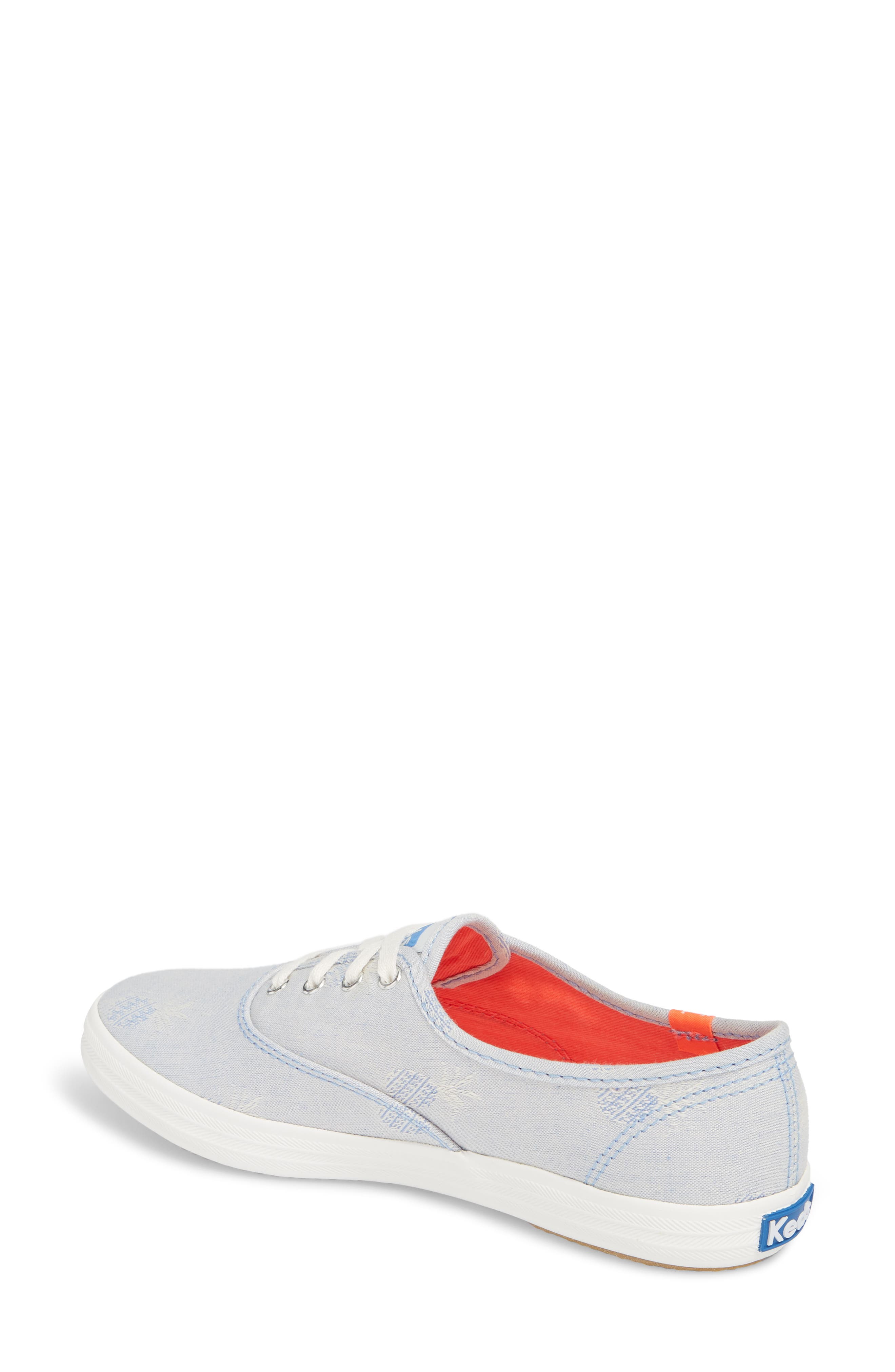 Champion Pineapple Chambray Sneaker,                             Alternate thumbnail 2, color,                             400