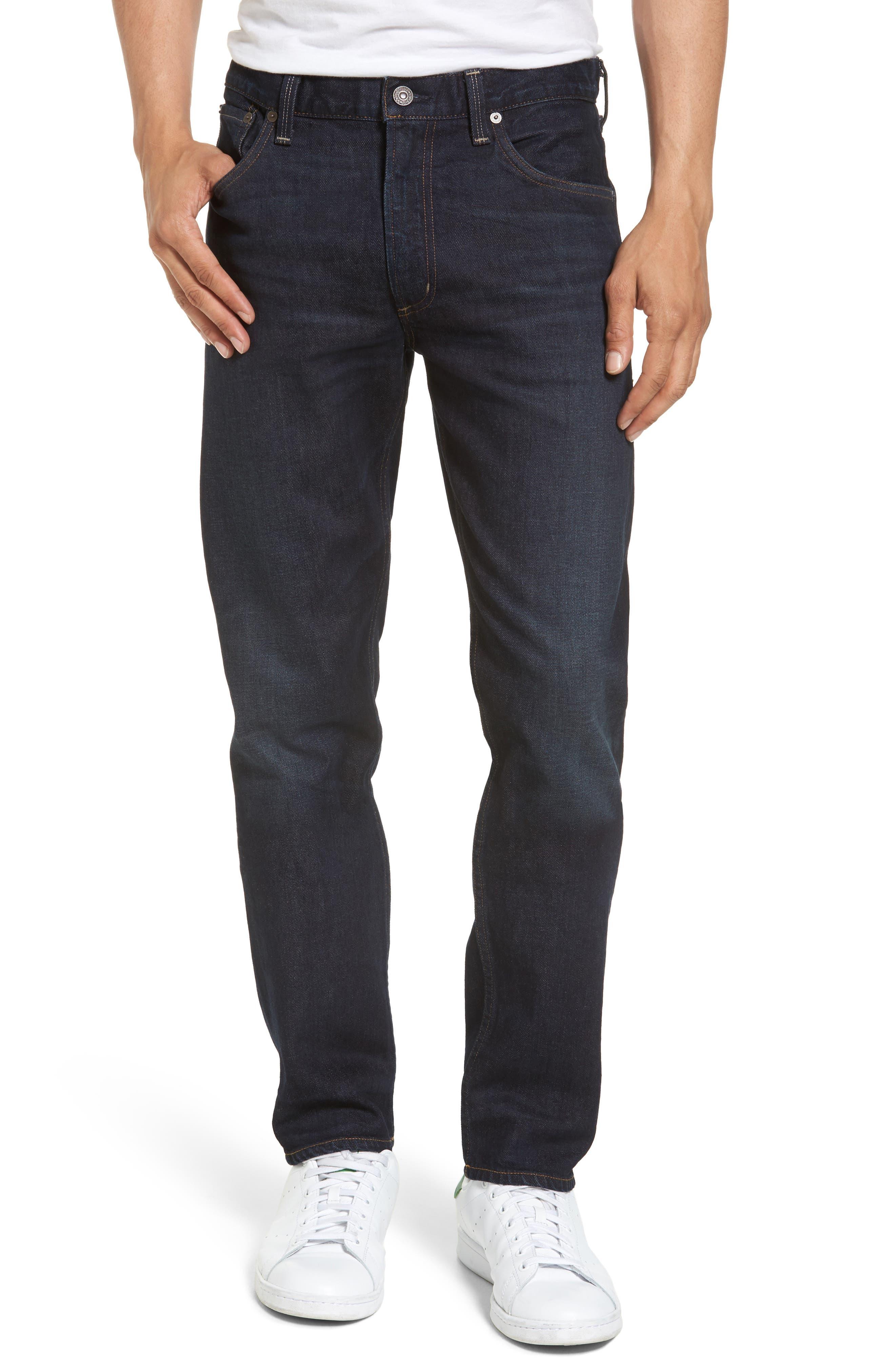 Slim Straight Leg Jeans,                             Main thumbnail 1, color,                             409