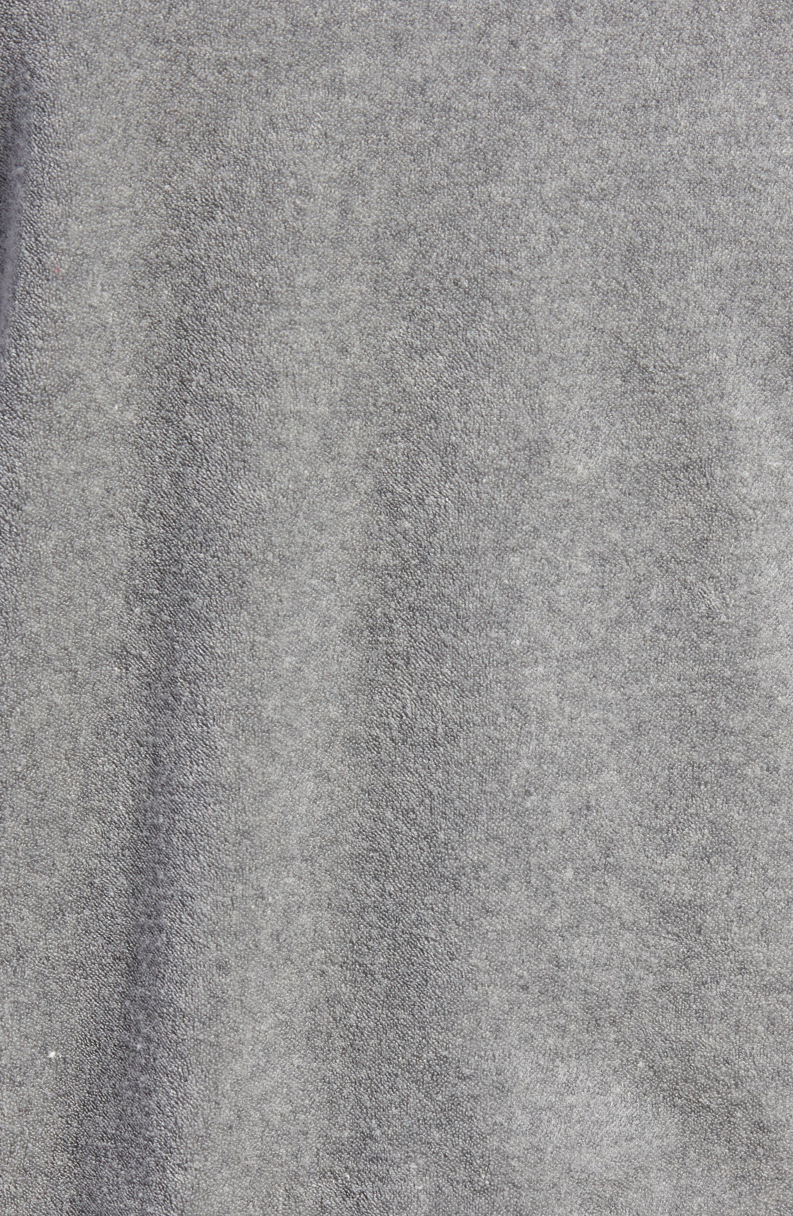 + Champion Short Sleeve Terry Sweatshirt,                             Alternate thumbnail 5, color,                             GREY