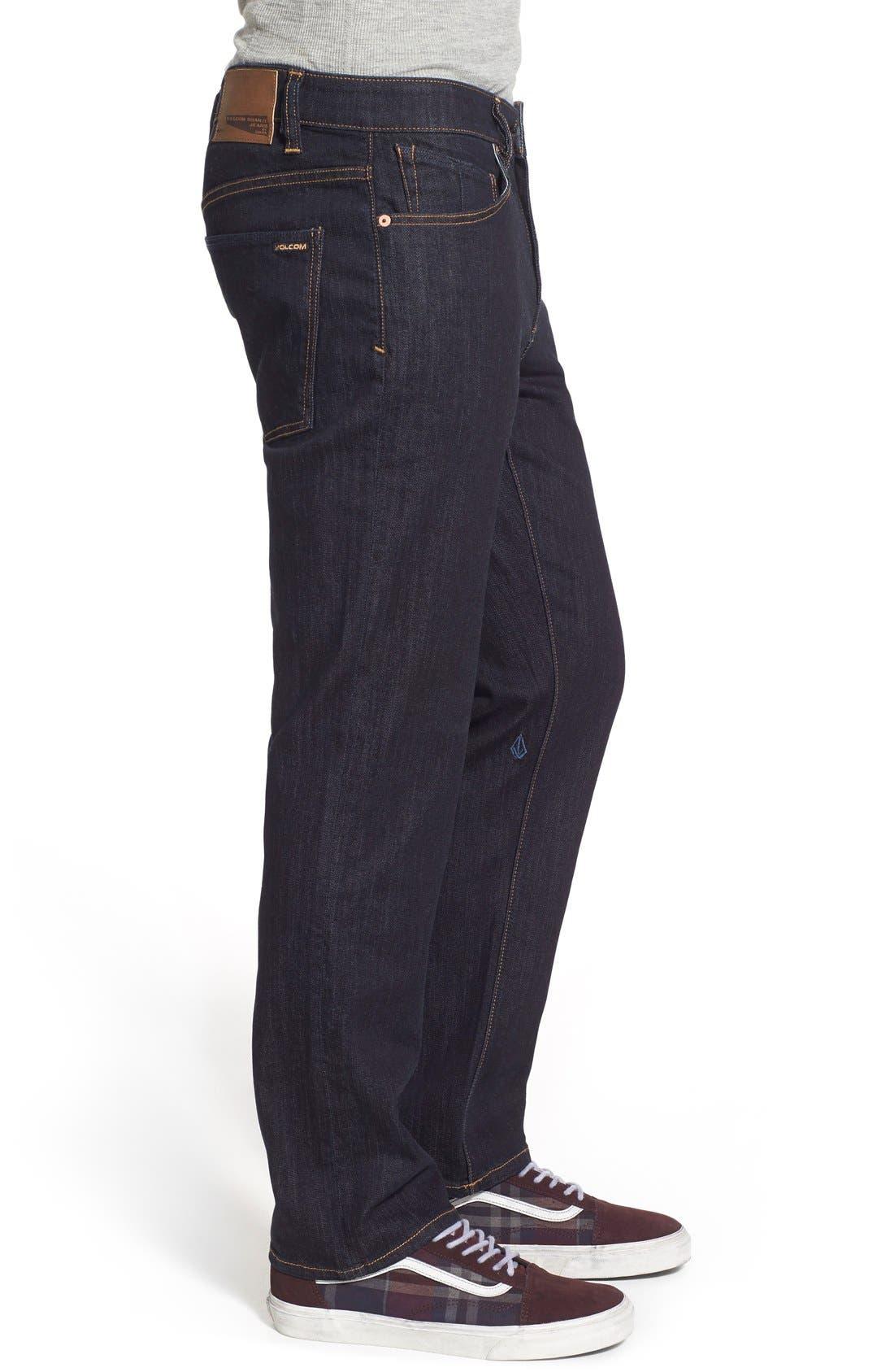 'Solver' Straight Leg Jeans,                             Alternate thumbnail 17, color,