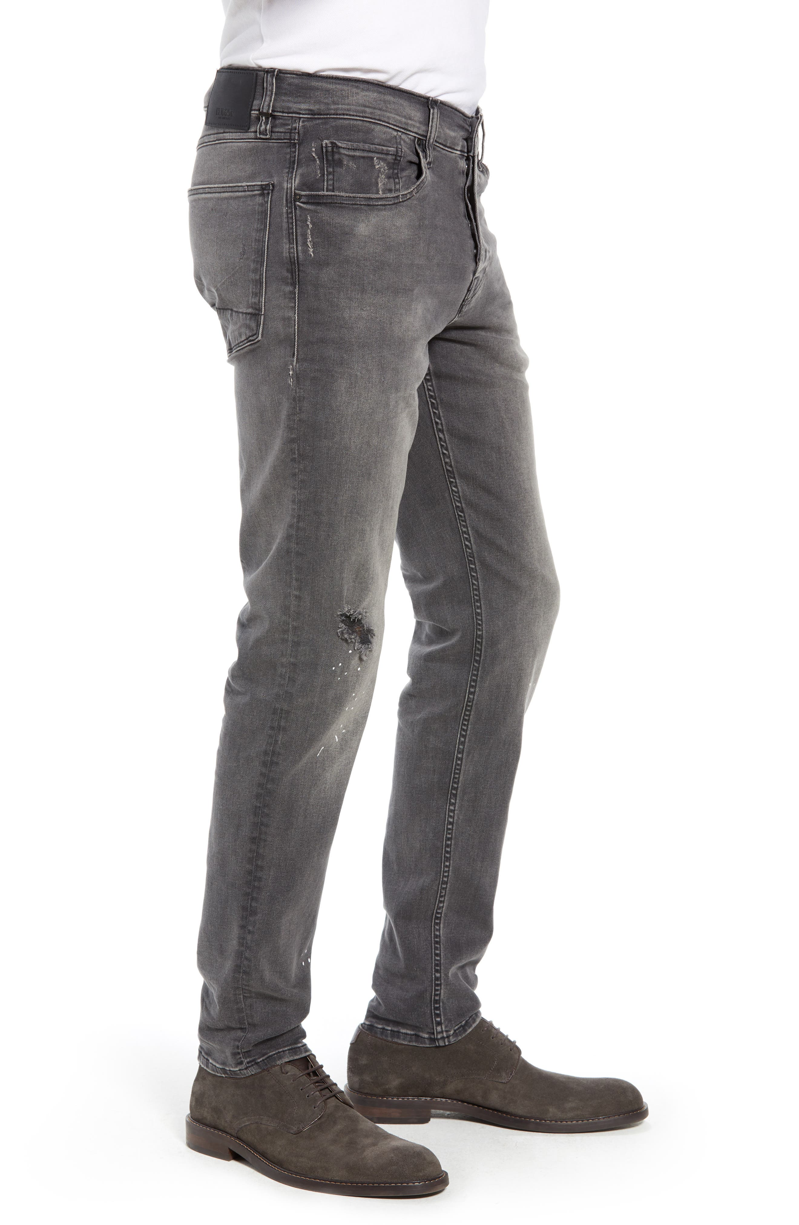 Sartor Slouchy Skinny Fit Jeans,                             Alternate thumbnail 3, color,                             LANG