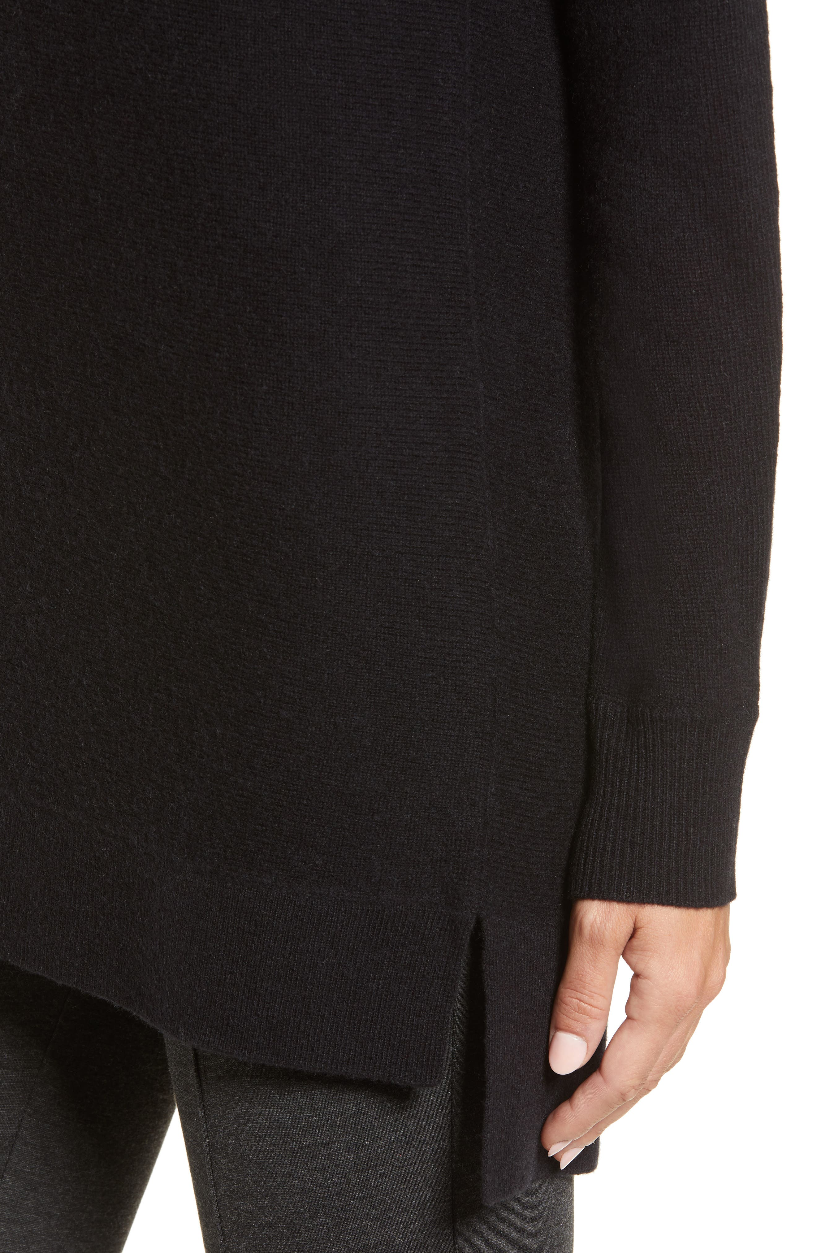 High/Low Wool & Cashmere Tunic Sweater,                             Alternate thumbnail 73, color,