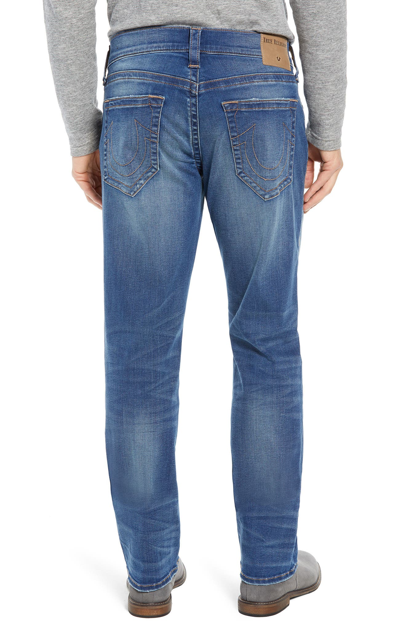 Ricky Relaxed Fit Jeans,                             Alternate thumbnail 2, color,                             SUPERNOVA BLUES